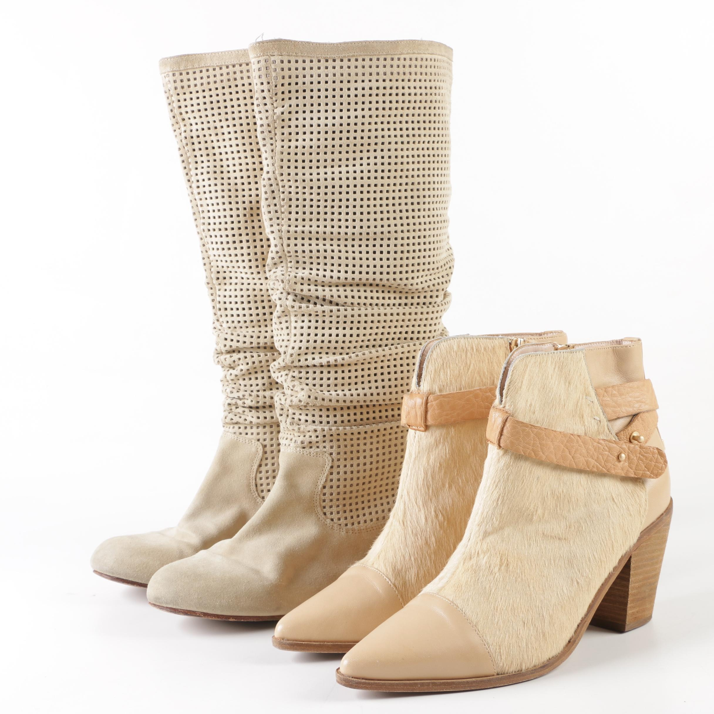 Australia Luxe Booties and Ugg Perforated Boots