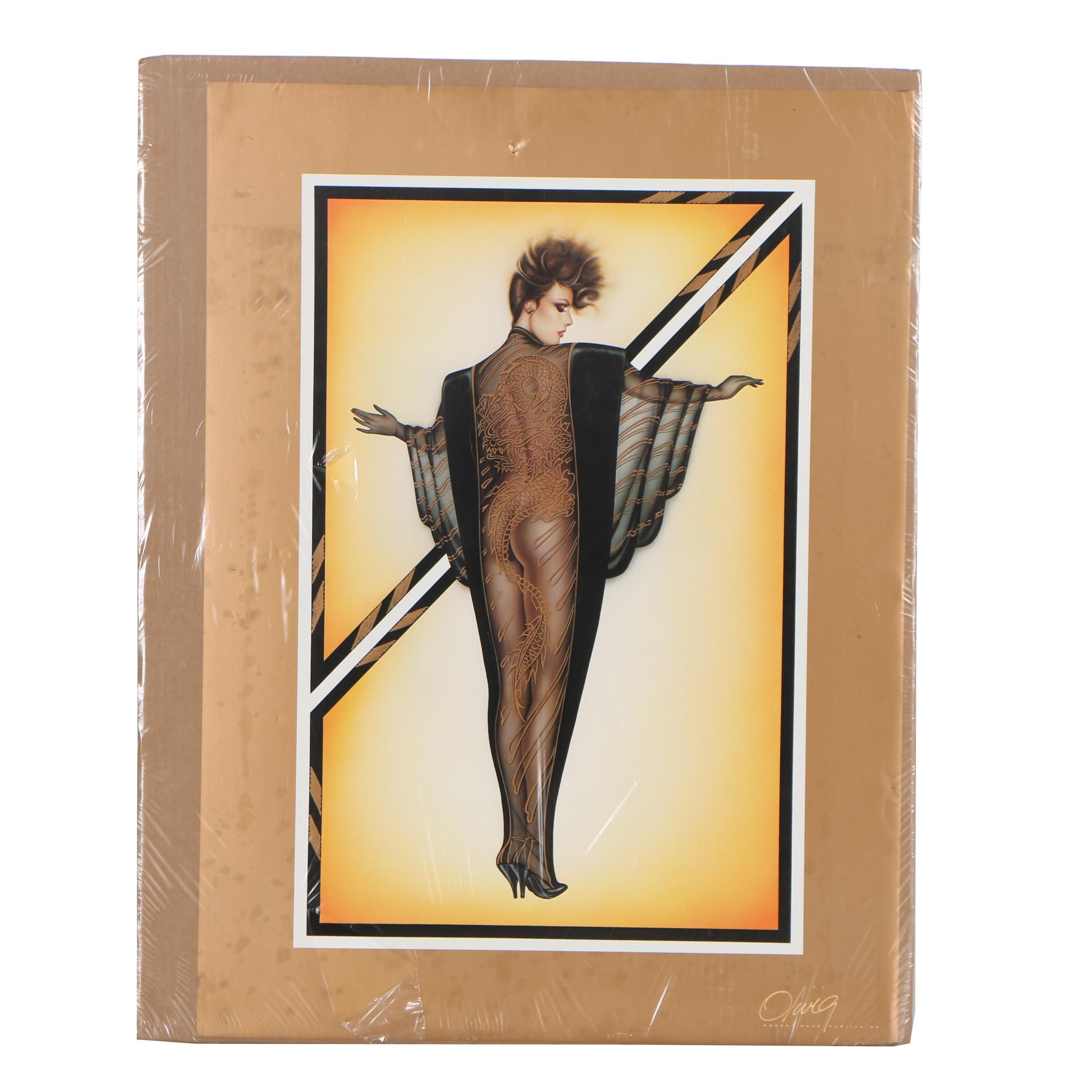 Offset Lithograph after Olivia De Berardinis