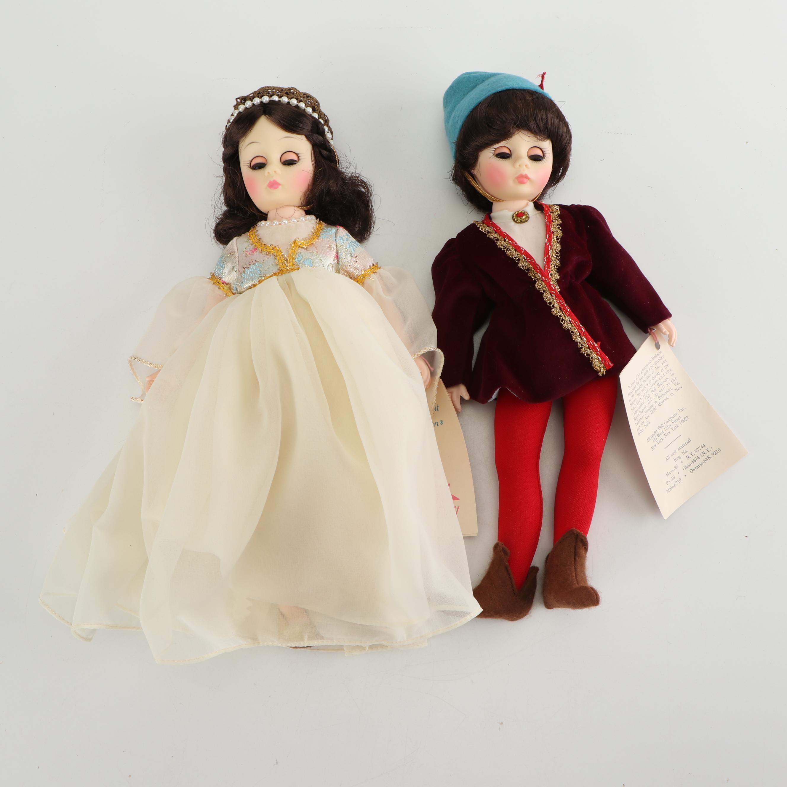 Madame Alexander Romeo & Juliet Dolls