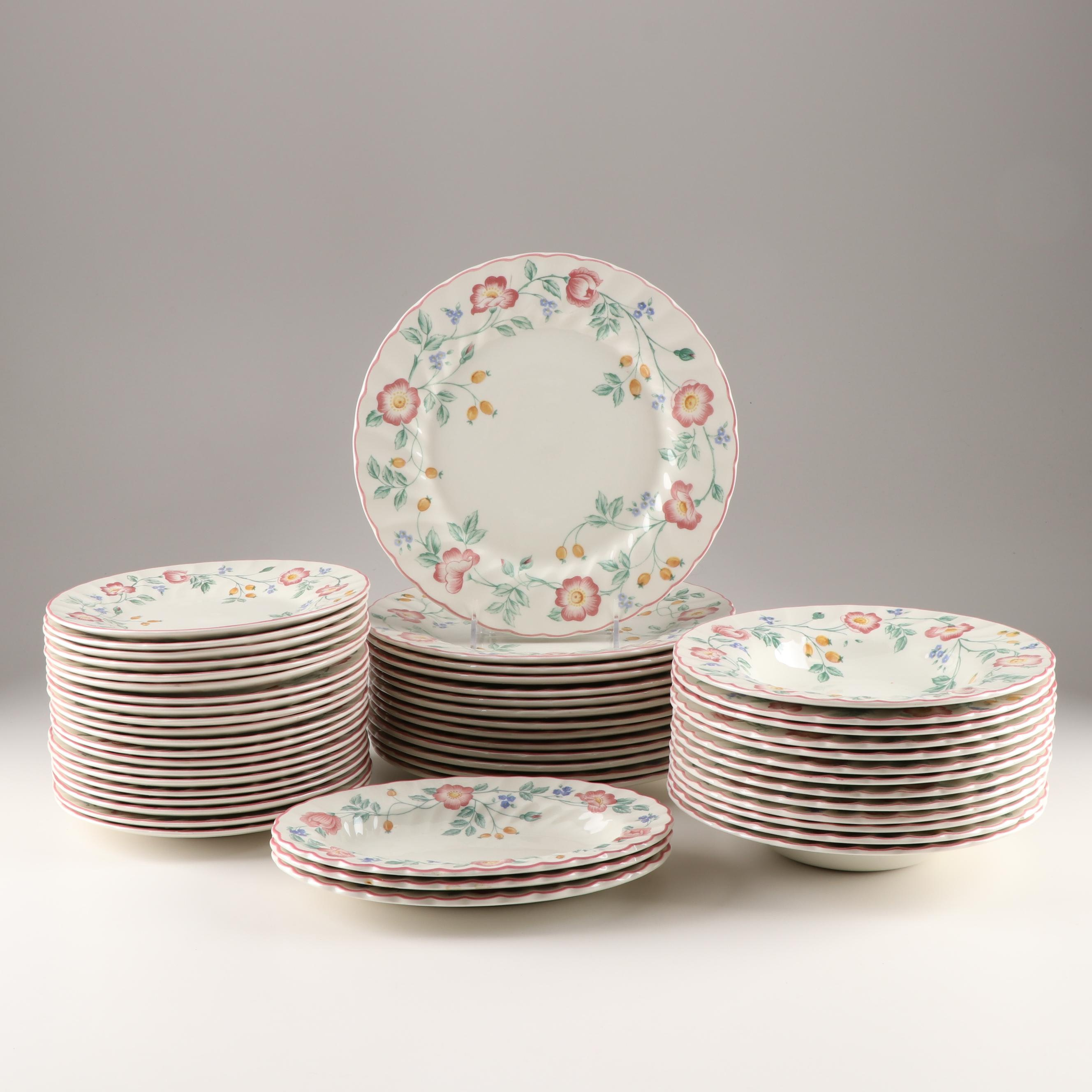 "Churchill ""Briar Rose"" Dinnerware"