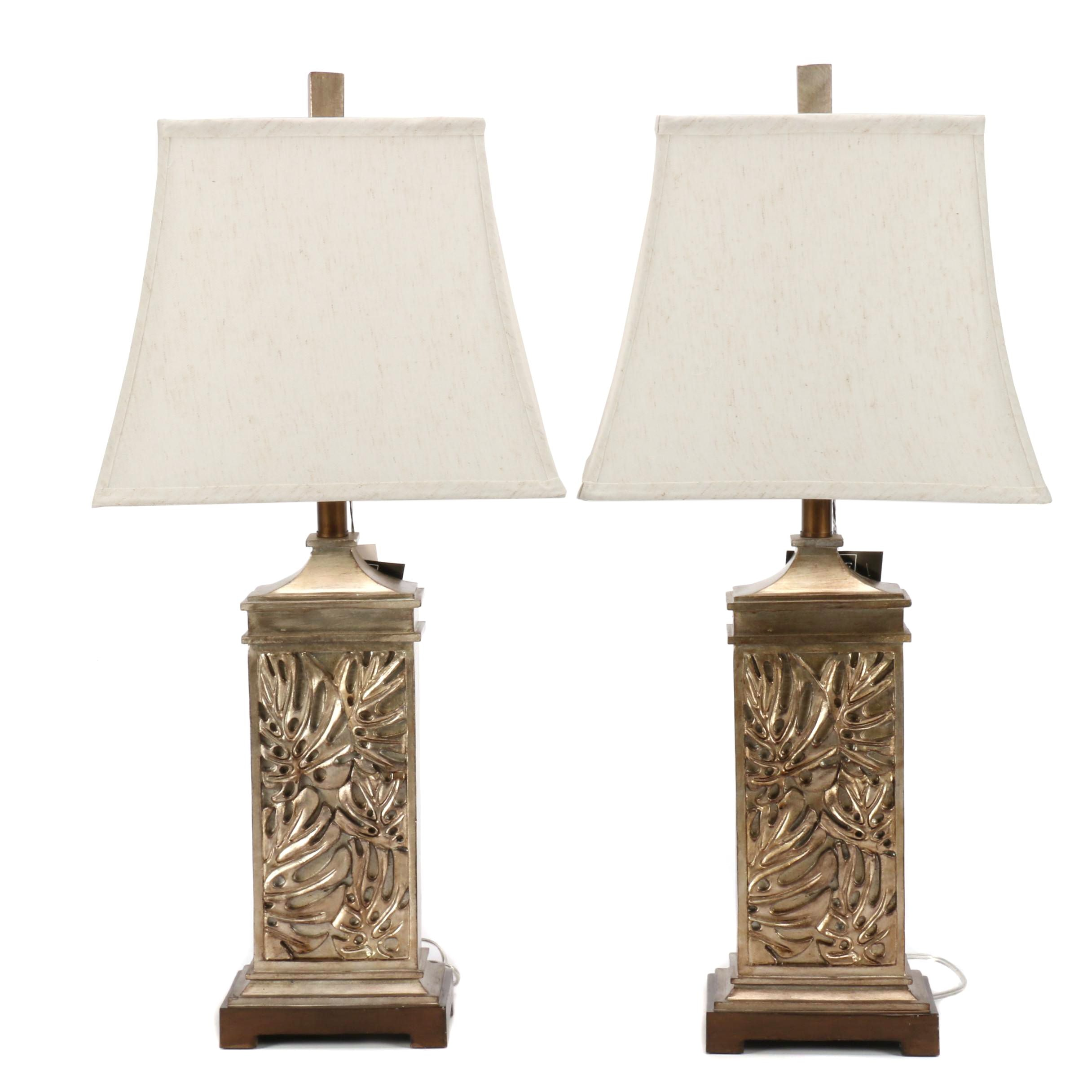 Style Craft Composite Table Lamps