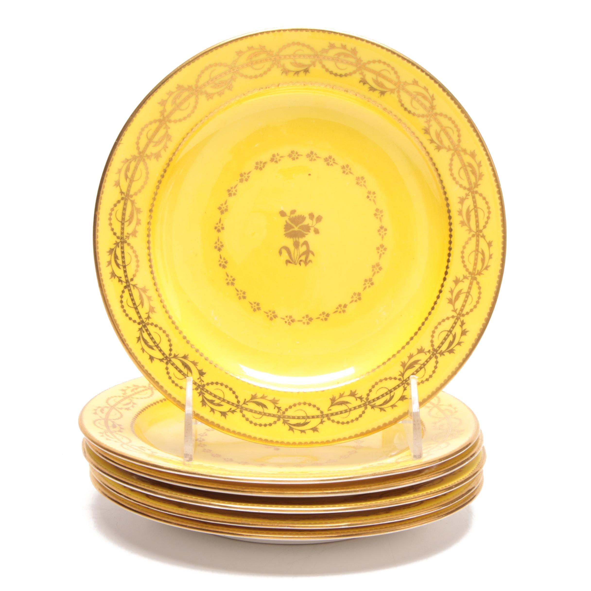 C. Shreve & Co Porcelain Dessert Plates