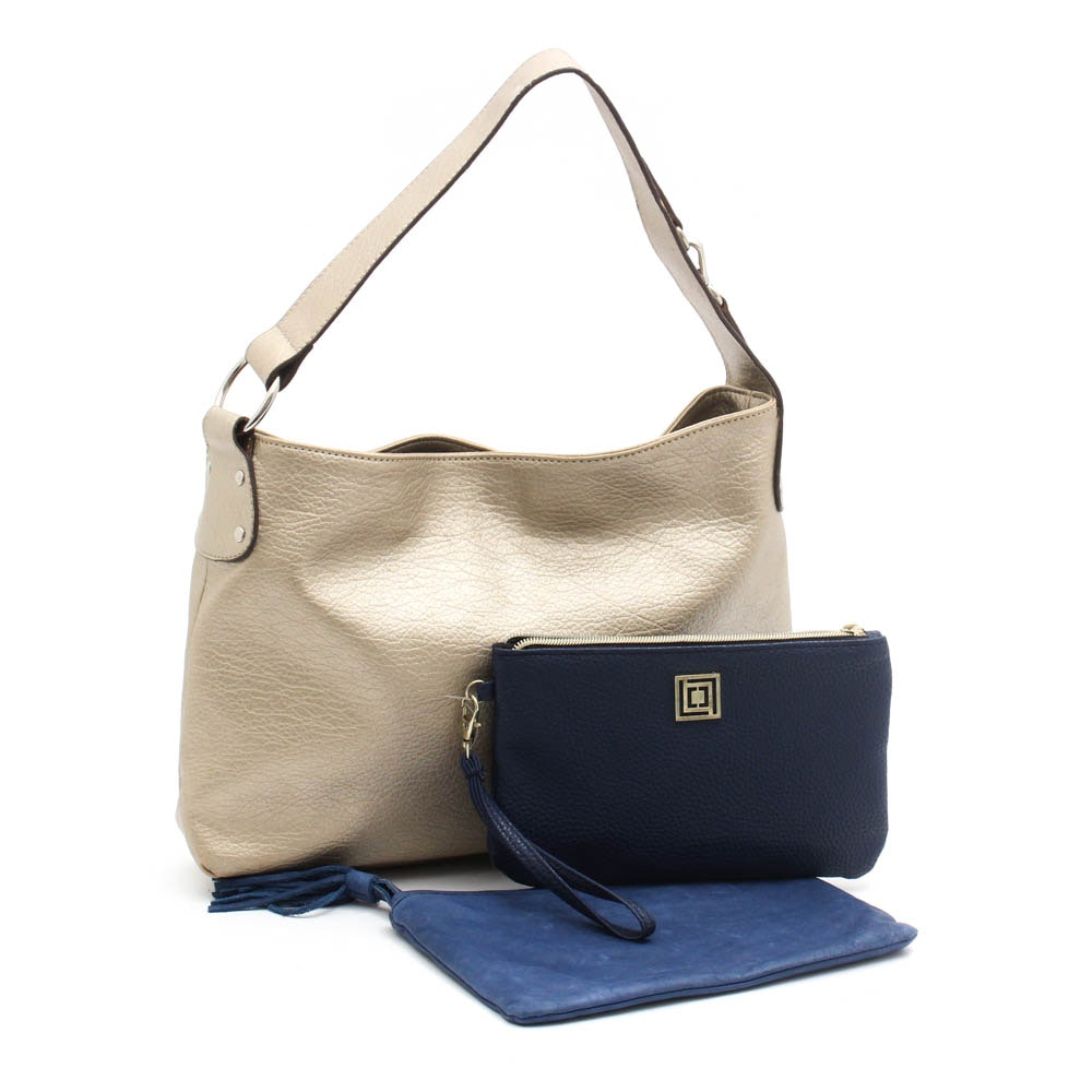 Lucky Brand and Liz Claiborne Bags Including Charging Dock