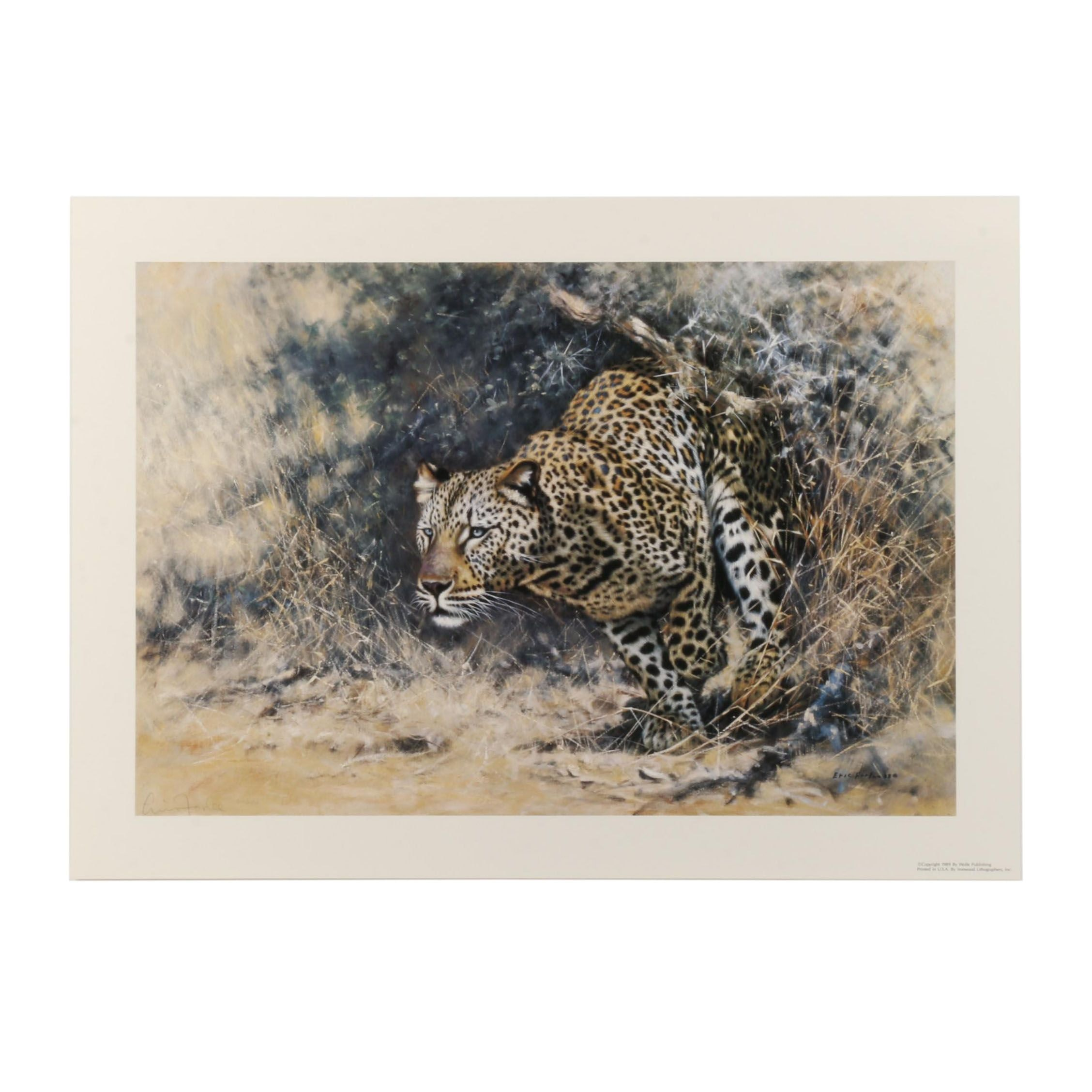 "Eric Forlee Limited Edition Offset Lithograph ""Ambush"""