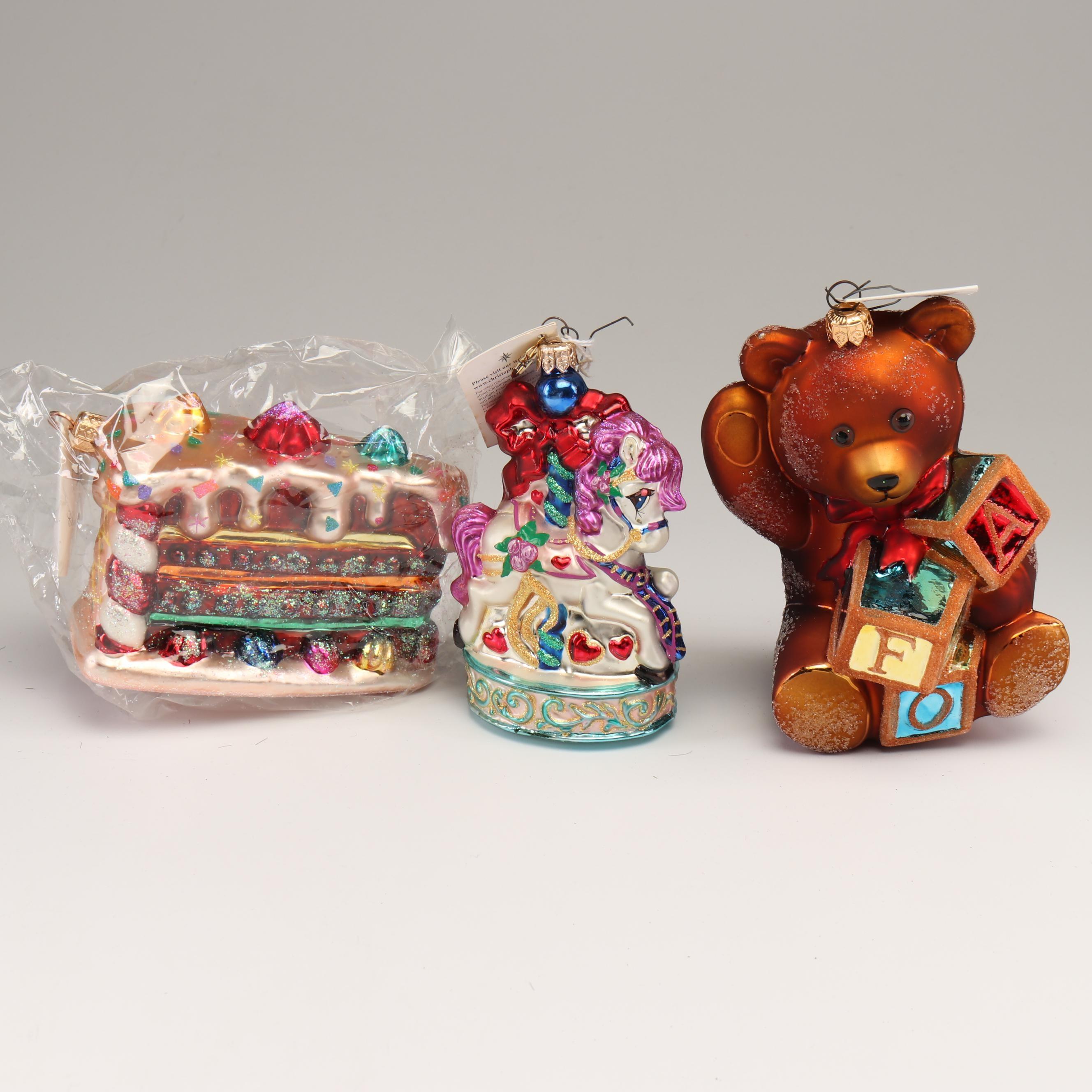 Christopher Radko Glass Ornaments