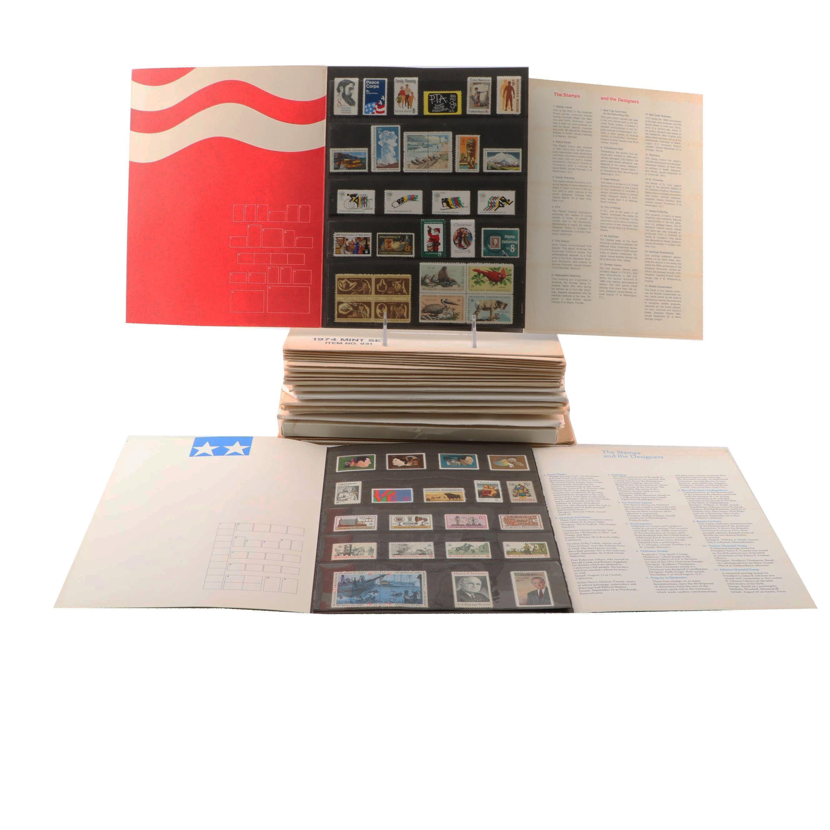United States Postal Service Stamp Mint Sets