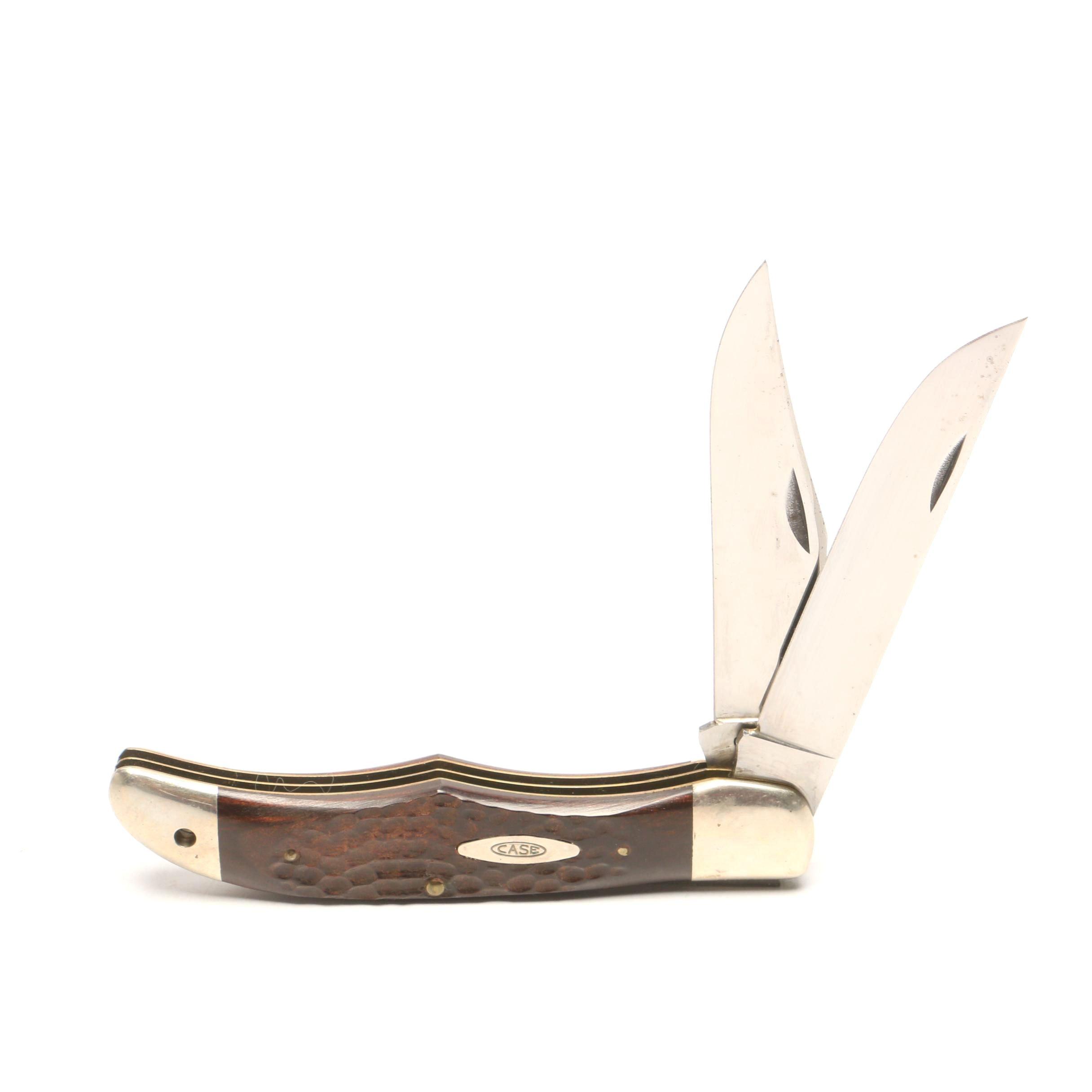 Case USA Dual-Blade Folding Pocket Knife