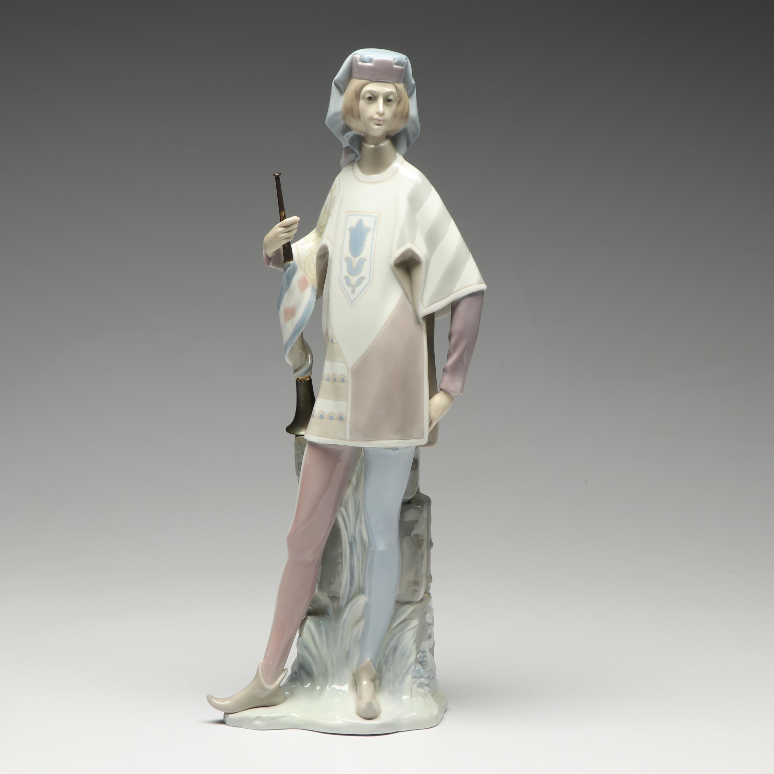 "Lladró ""The Herald"" Figurine, 1965-1970"