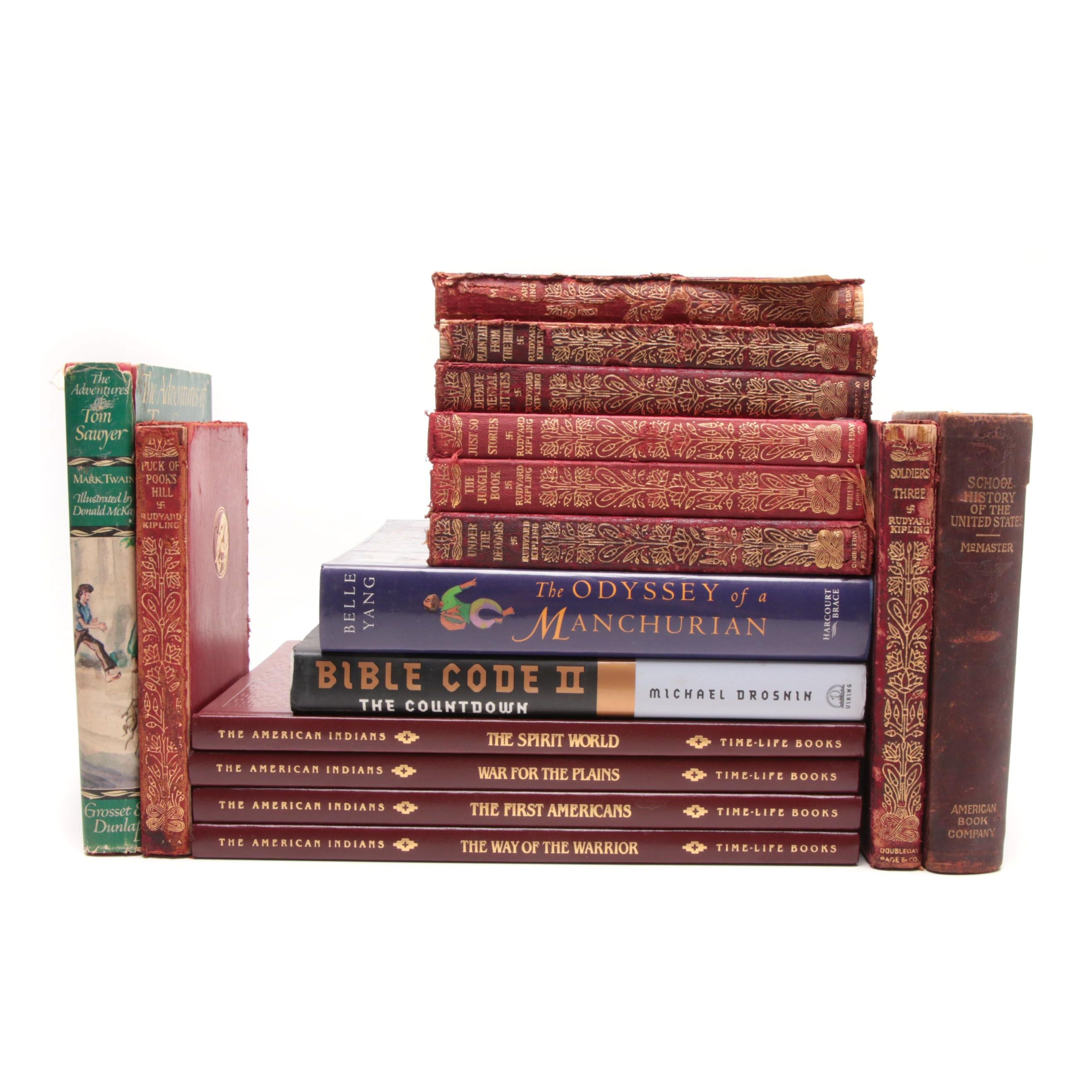 Classic Fiction and Reference Books
