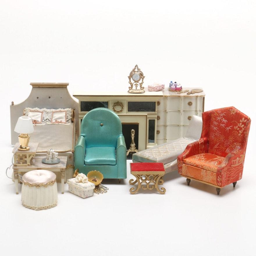 Ideal Vintage Dollhouse Furniture Ebth