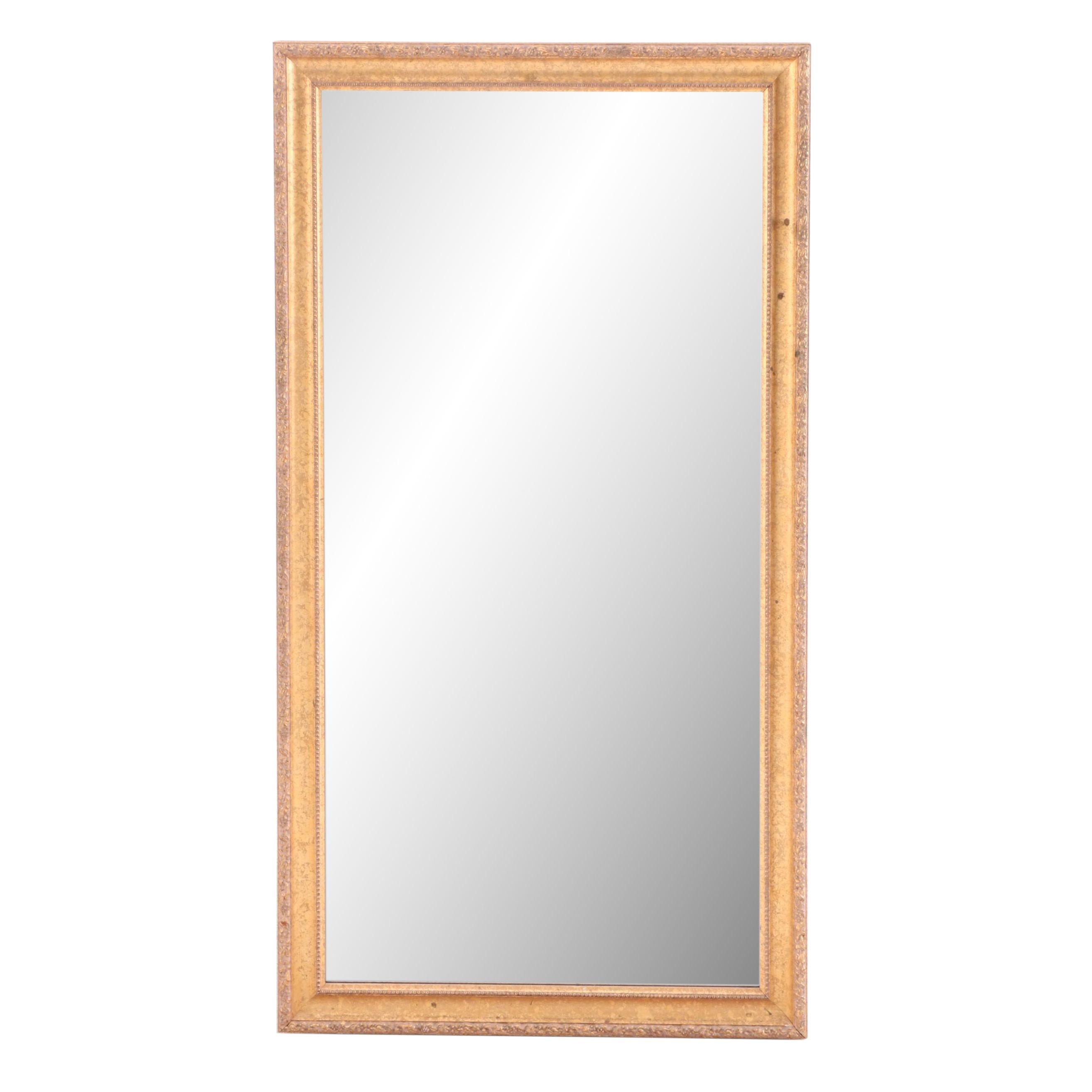 Gilt Finish Wall Mirror