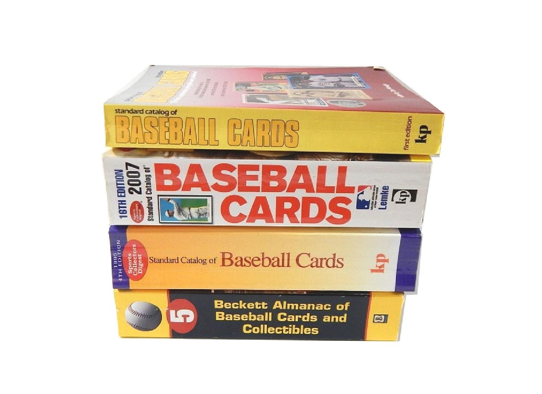 Four Baseball Card Catalogs and Almanacs