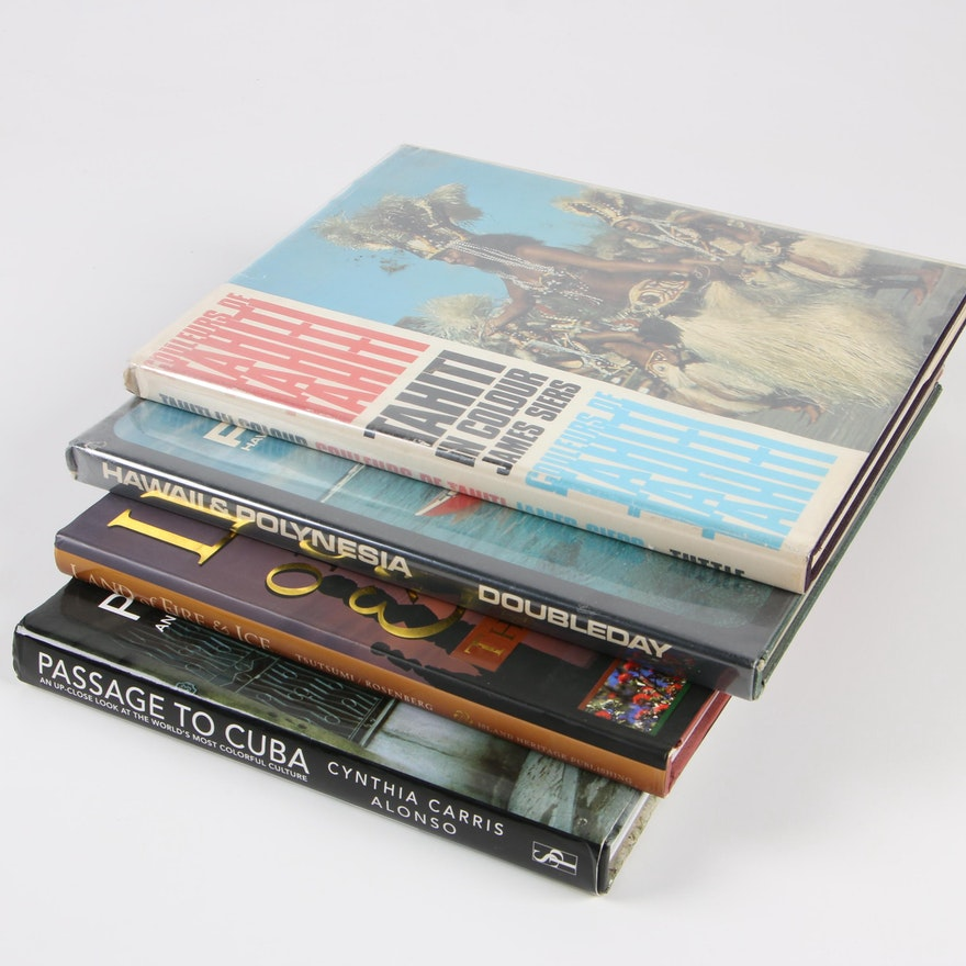 Travel And Photography Coffee Table Books Ebth