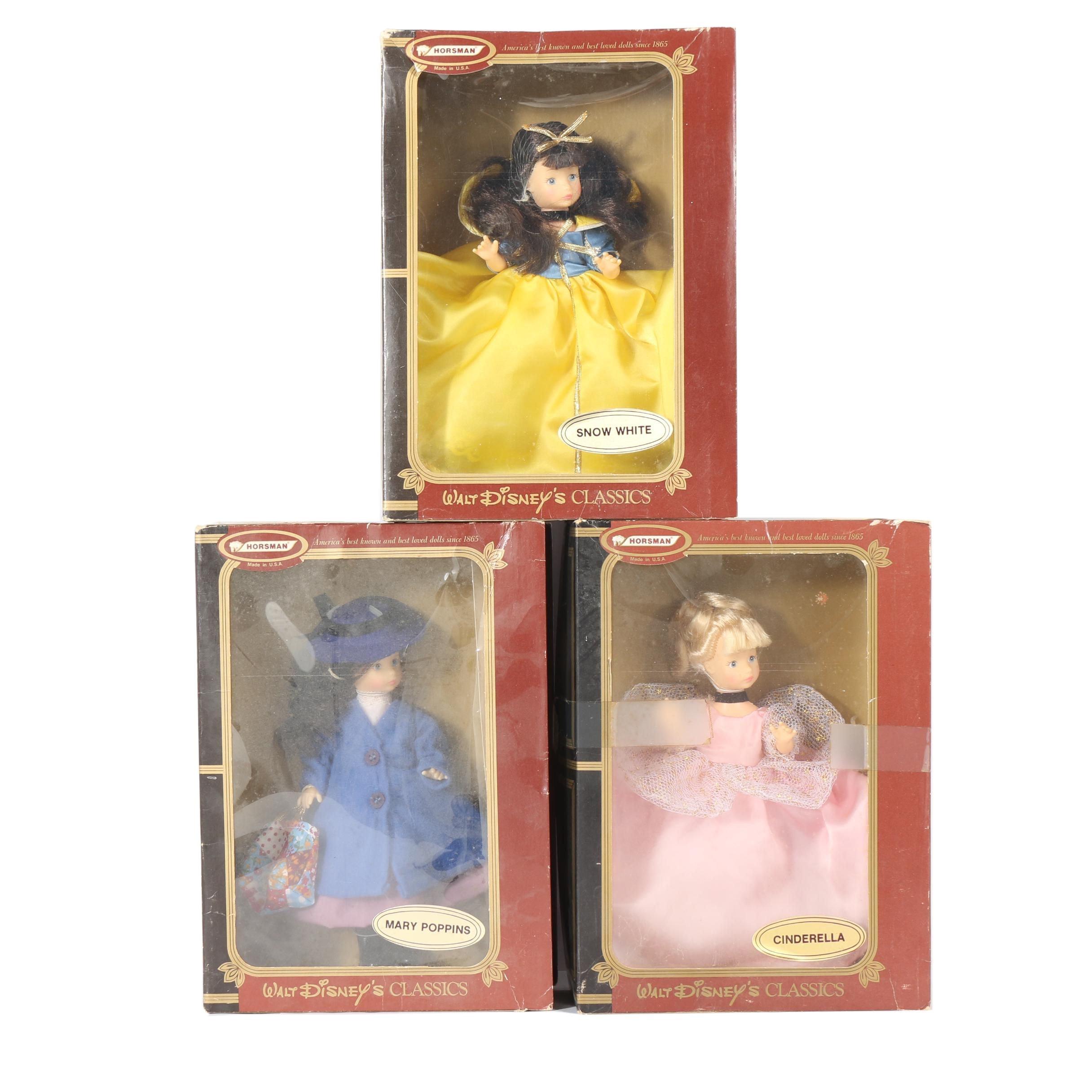 Horsman Walt Disney Classics Dolls