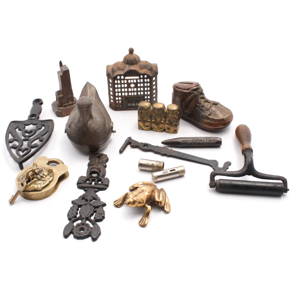 Antique and Vintage Metalware