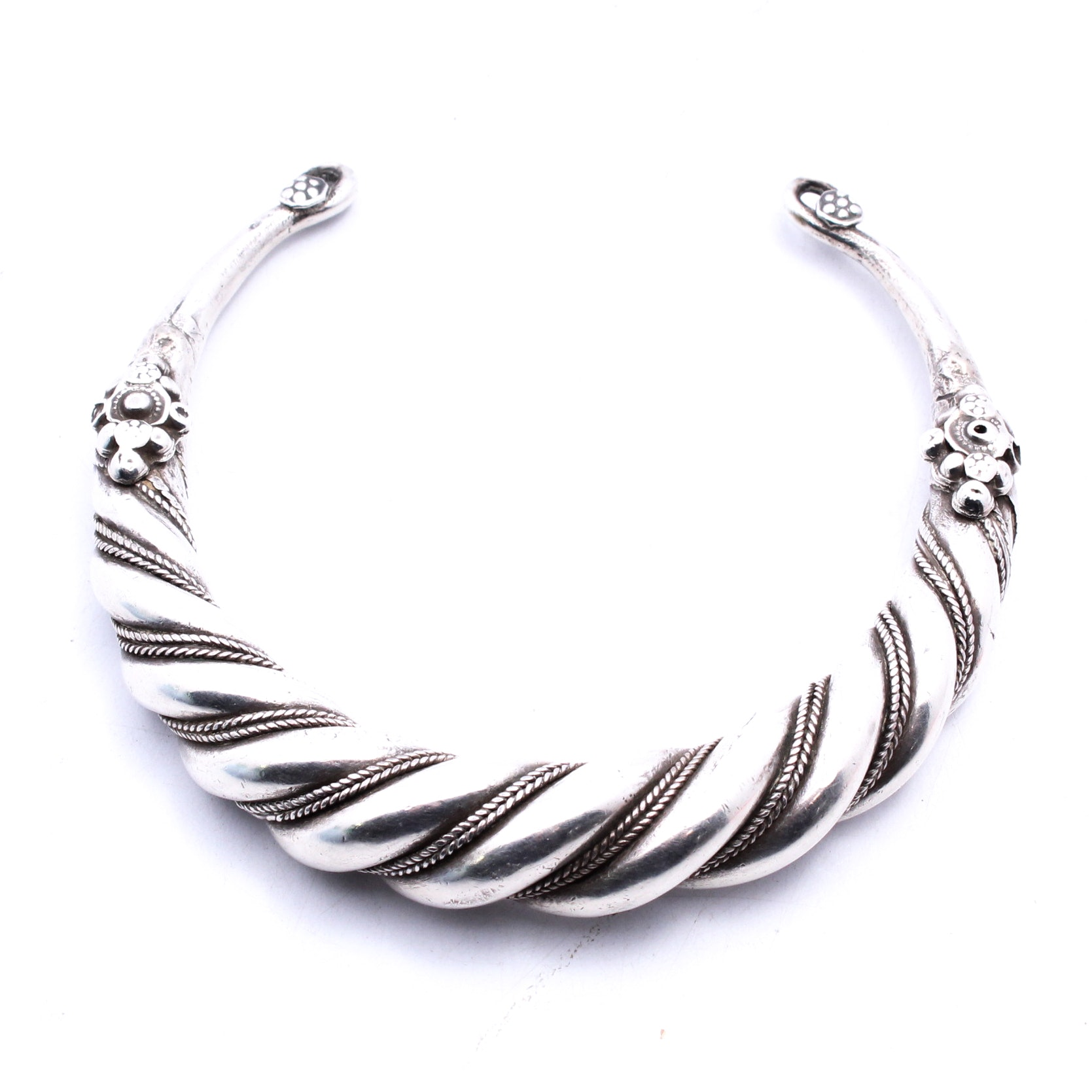 Sterling Silver Chest Ornament Pendant