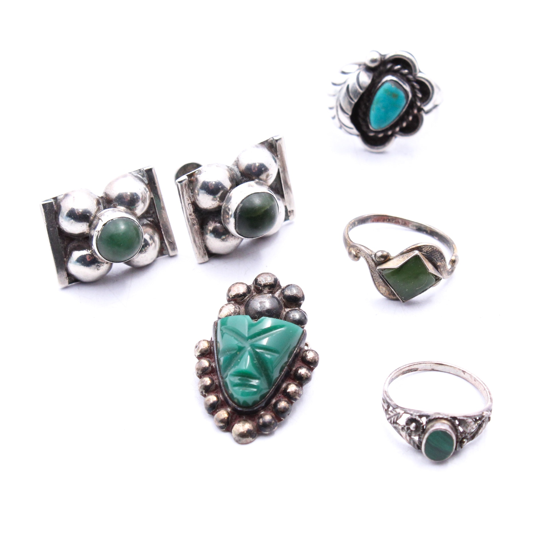 Sterling Silver and 800 Silver Jewelry