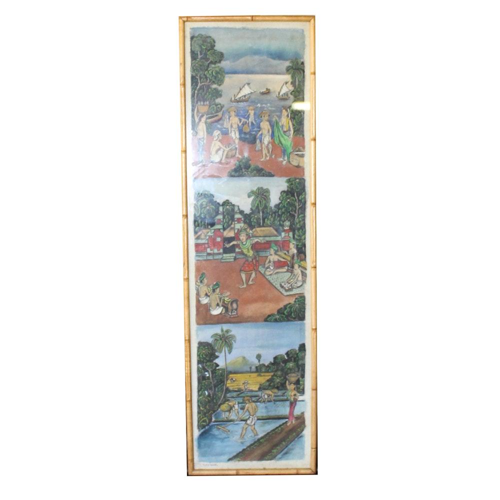 Sobangan Acrylic Painting on Canvas