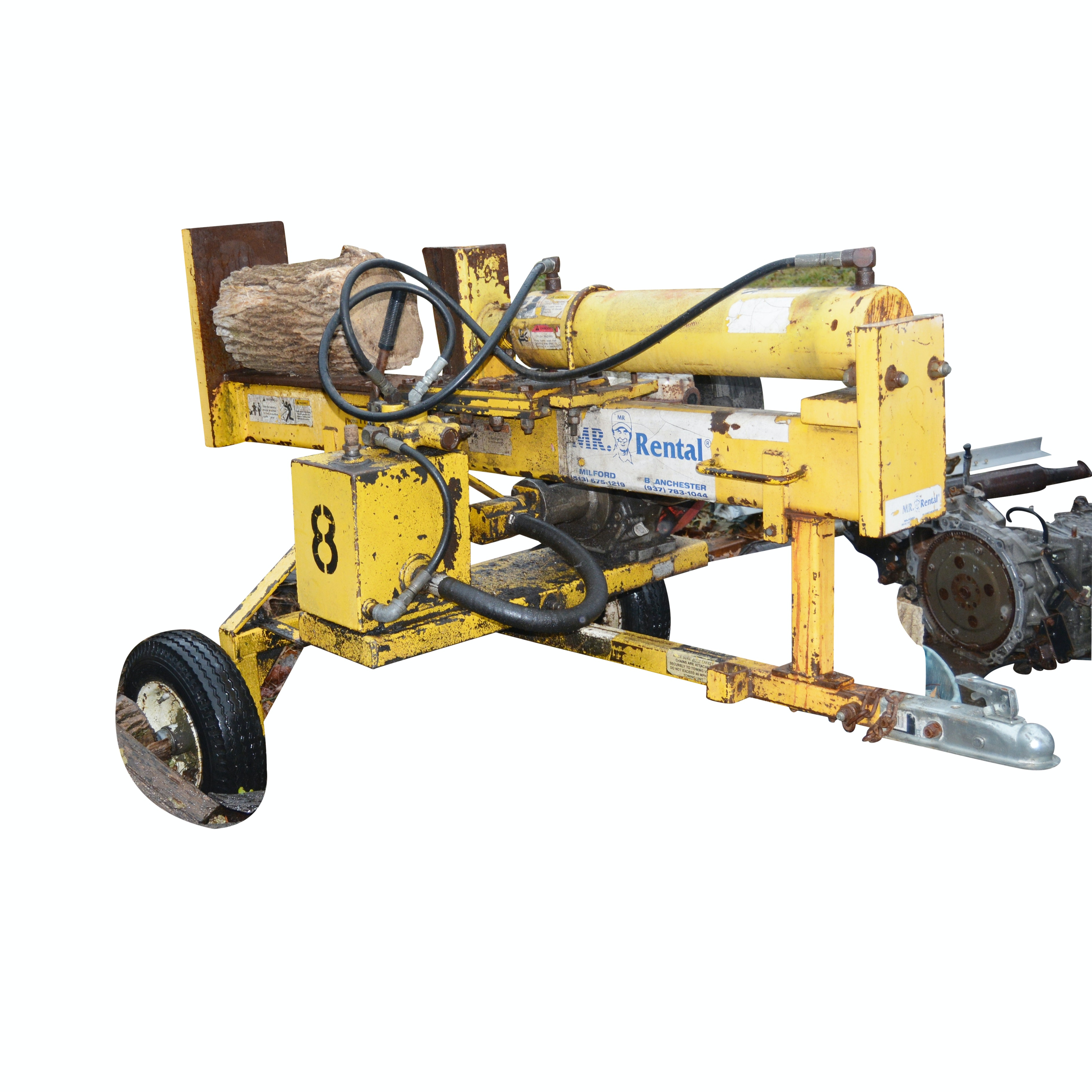 RAM Log Splitter RV800
