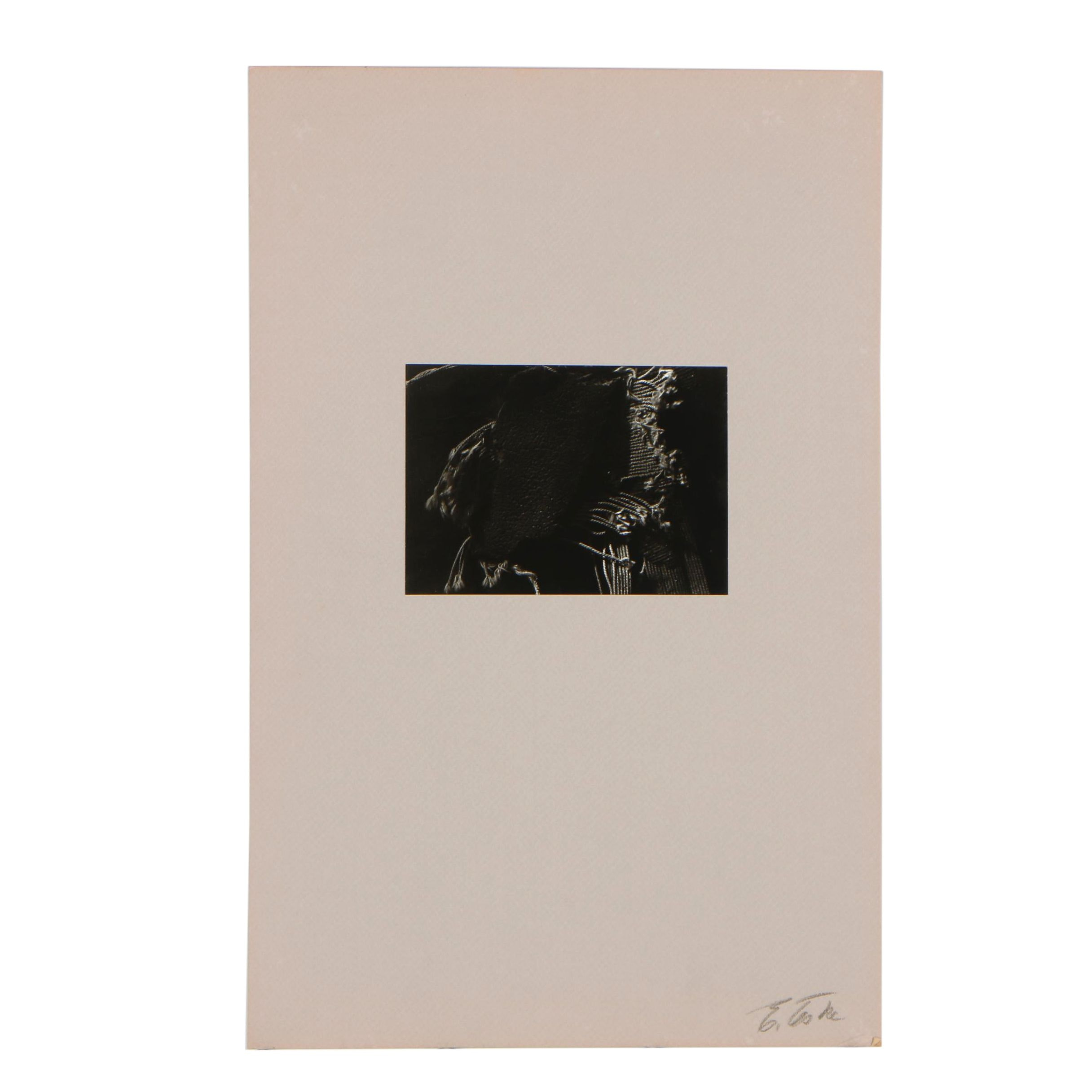 Edmund Teske Gelatin Silver Abstract Photograph