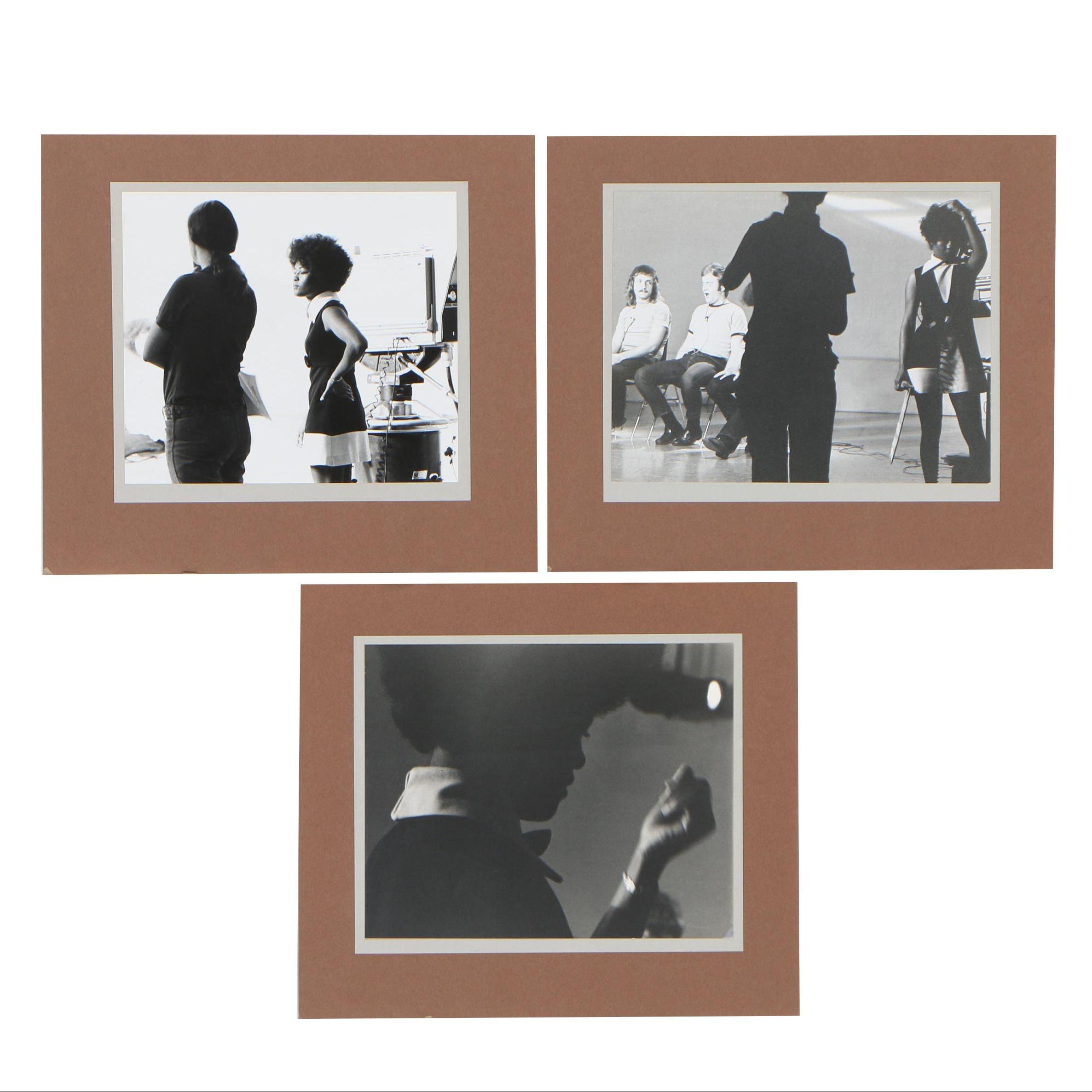 Cathal O'Toole Silver Gelatin Photographs of Film Studio