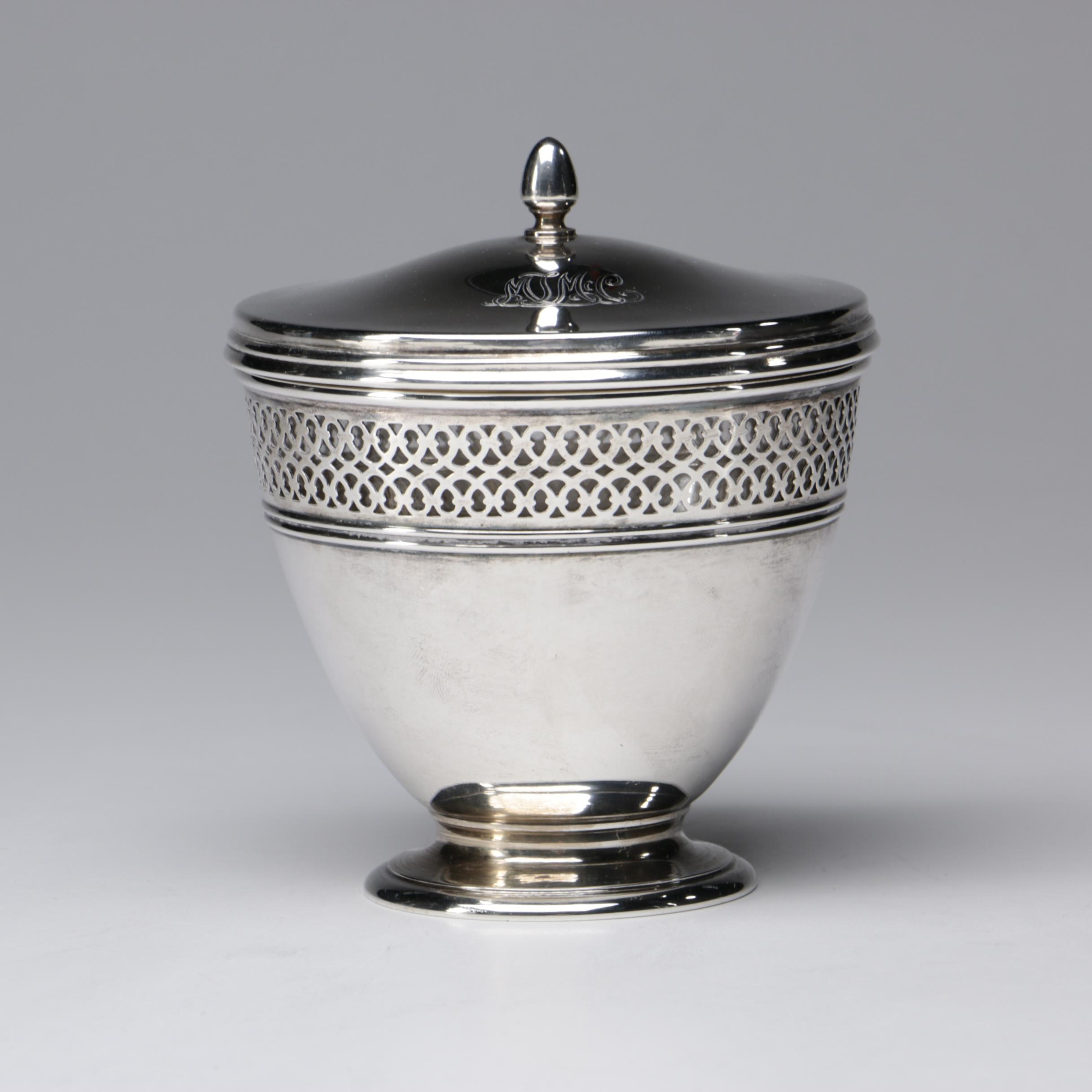 Tiffany & Co. Sterling Silver Lidded Sugar, 1913