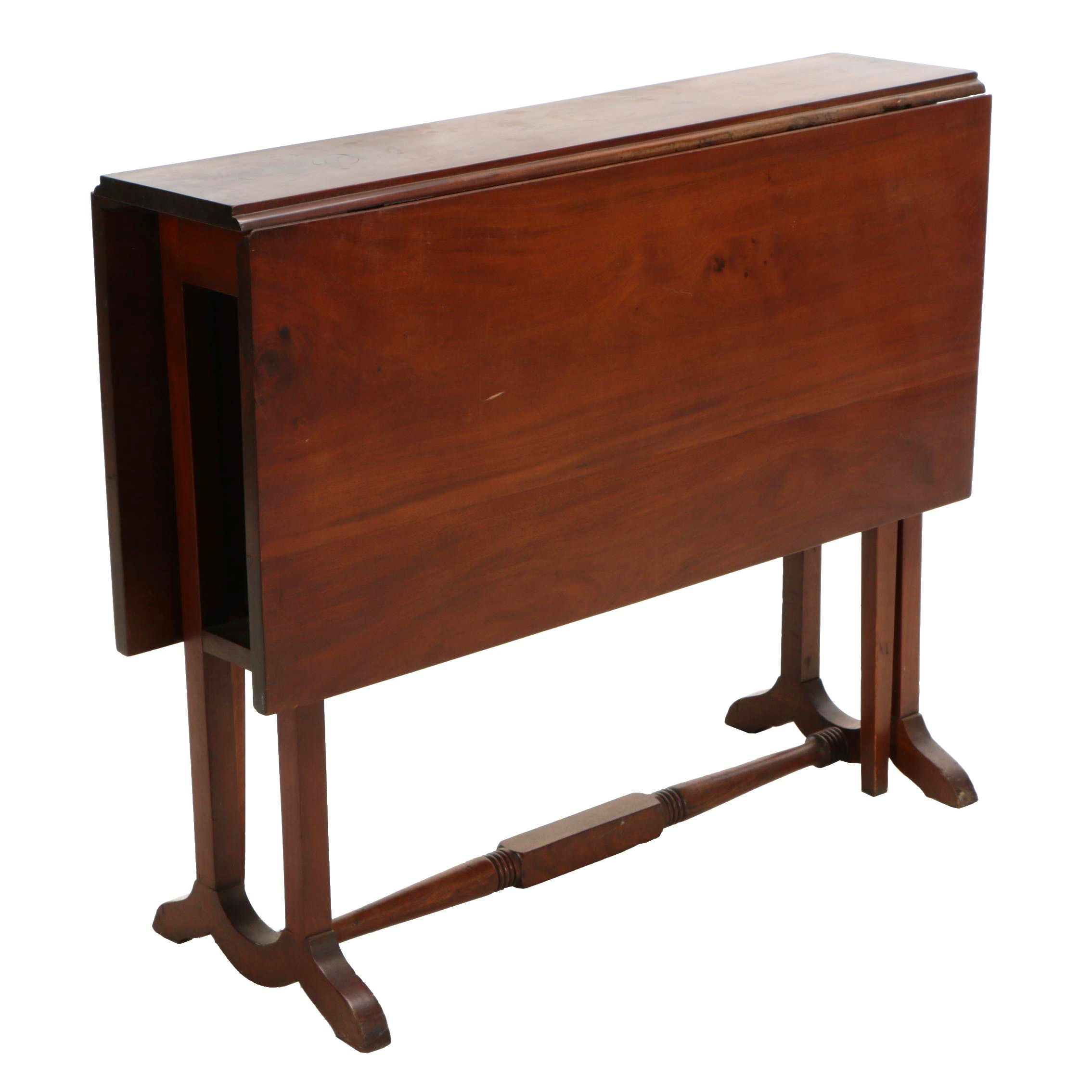 Edwardian Mahogany Sutherland Table, Early 20th Century