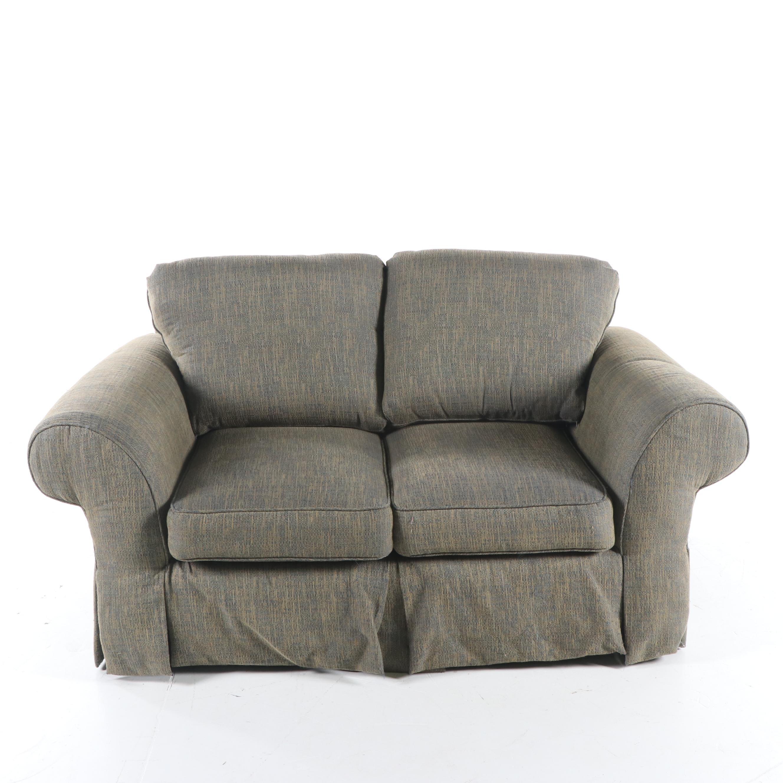 Upholstered Loveseat by Design Upholstery, 21st Century