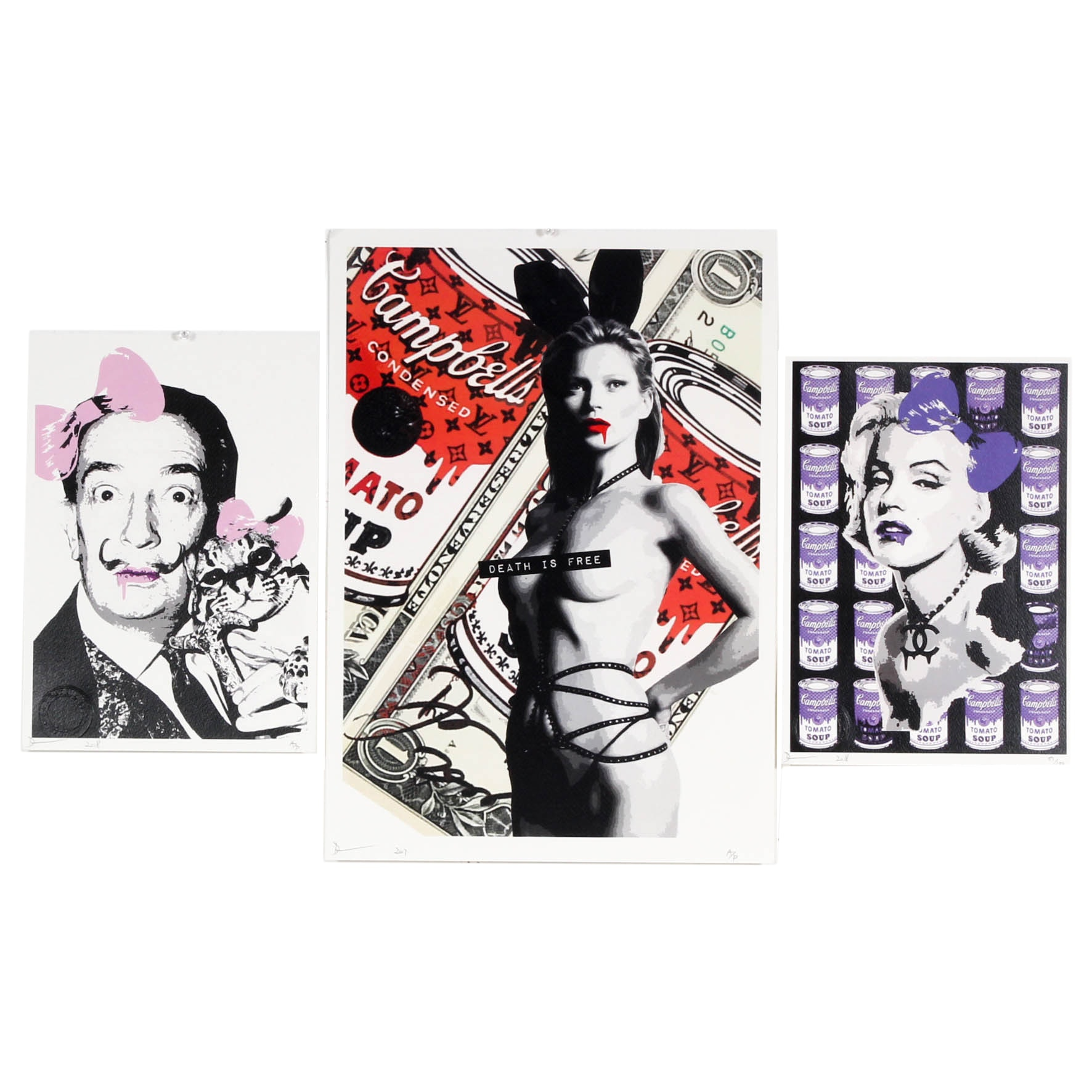 Death NYC Dali, Monroe and Moss, Graphic Prints