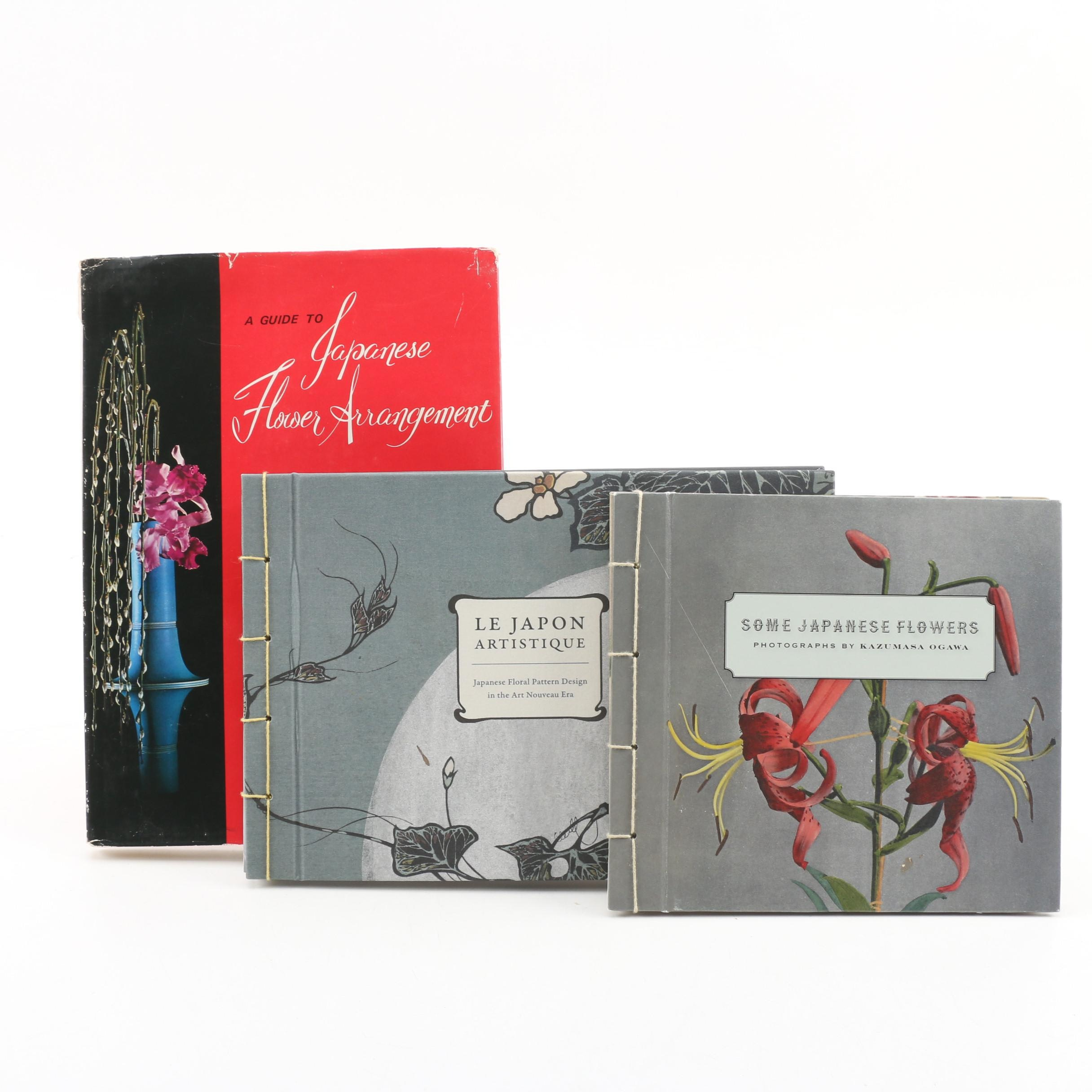Japanese Floral Design and Arrangement Books