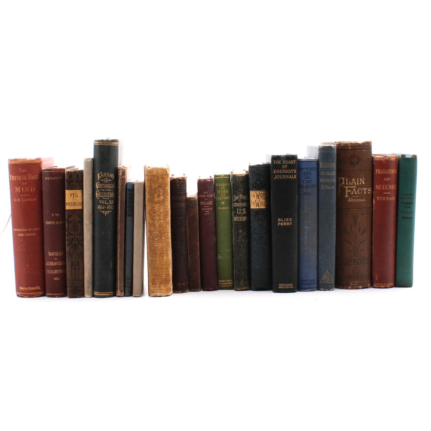 Vintage Non-Fiction Historical Books