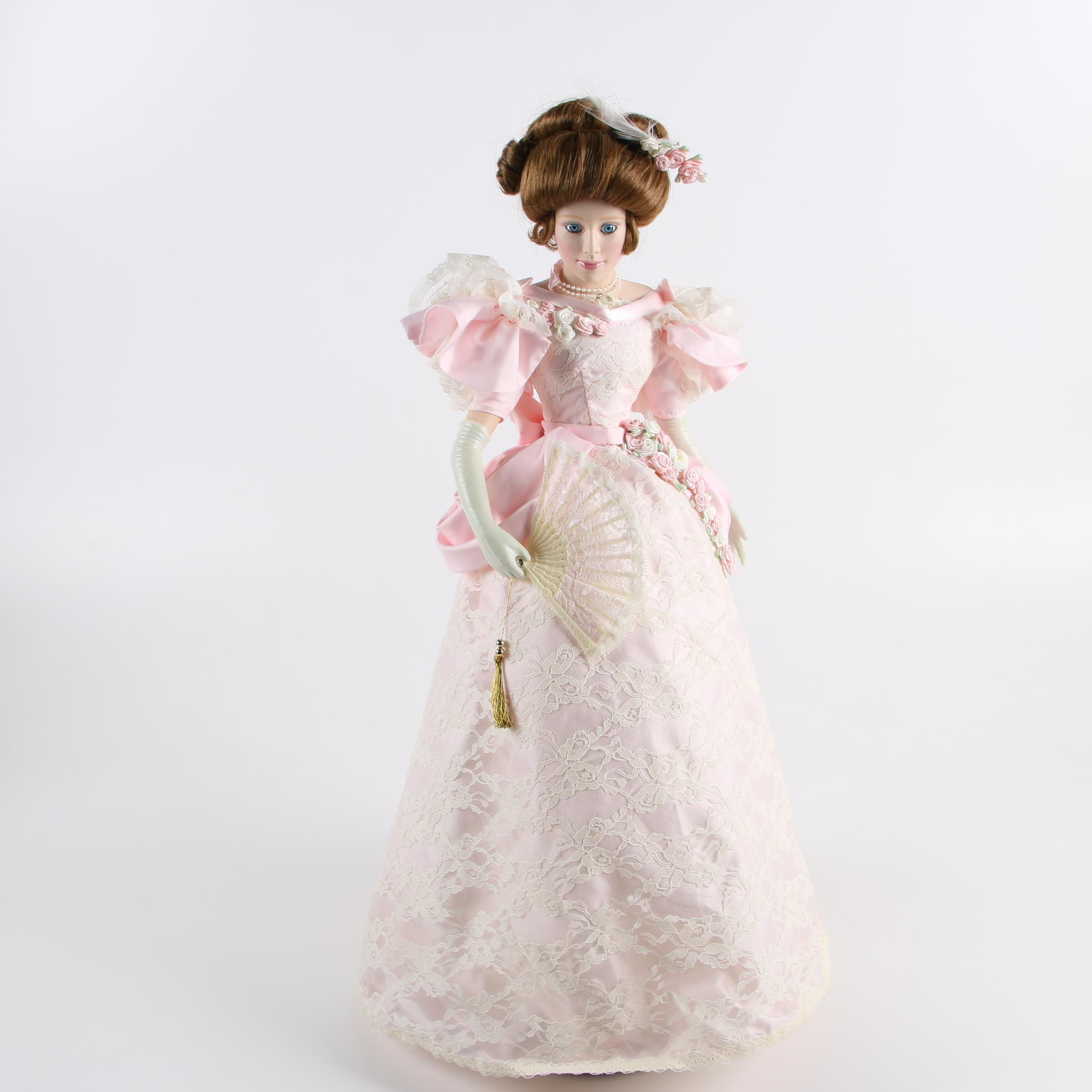 """Lenox """"Evening at the Gala"""" Porcelain Doll, 1992"""