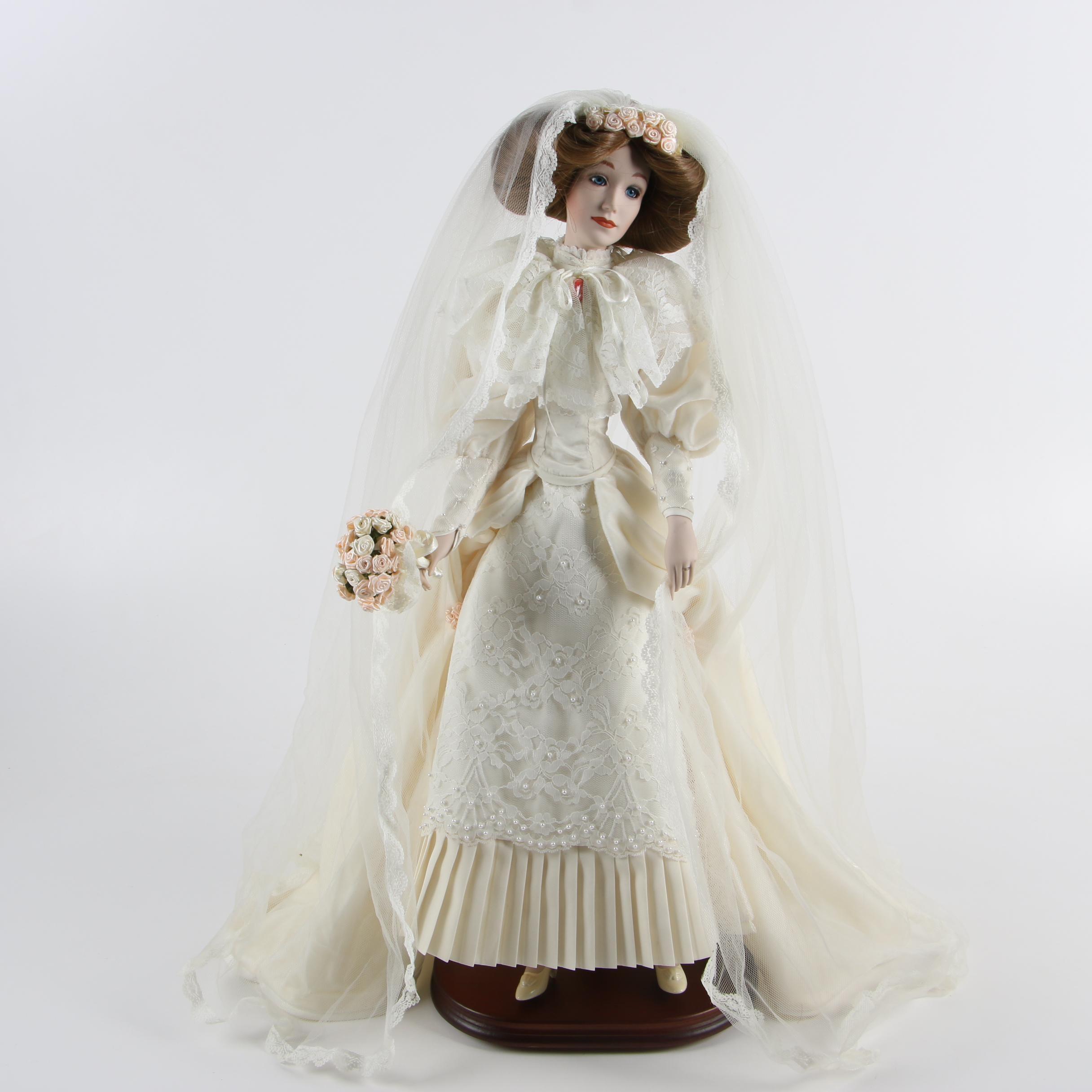 "Lenox ""Victorian Bride"" Porcelain Doll"