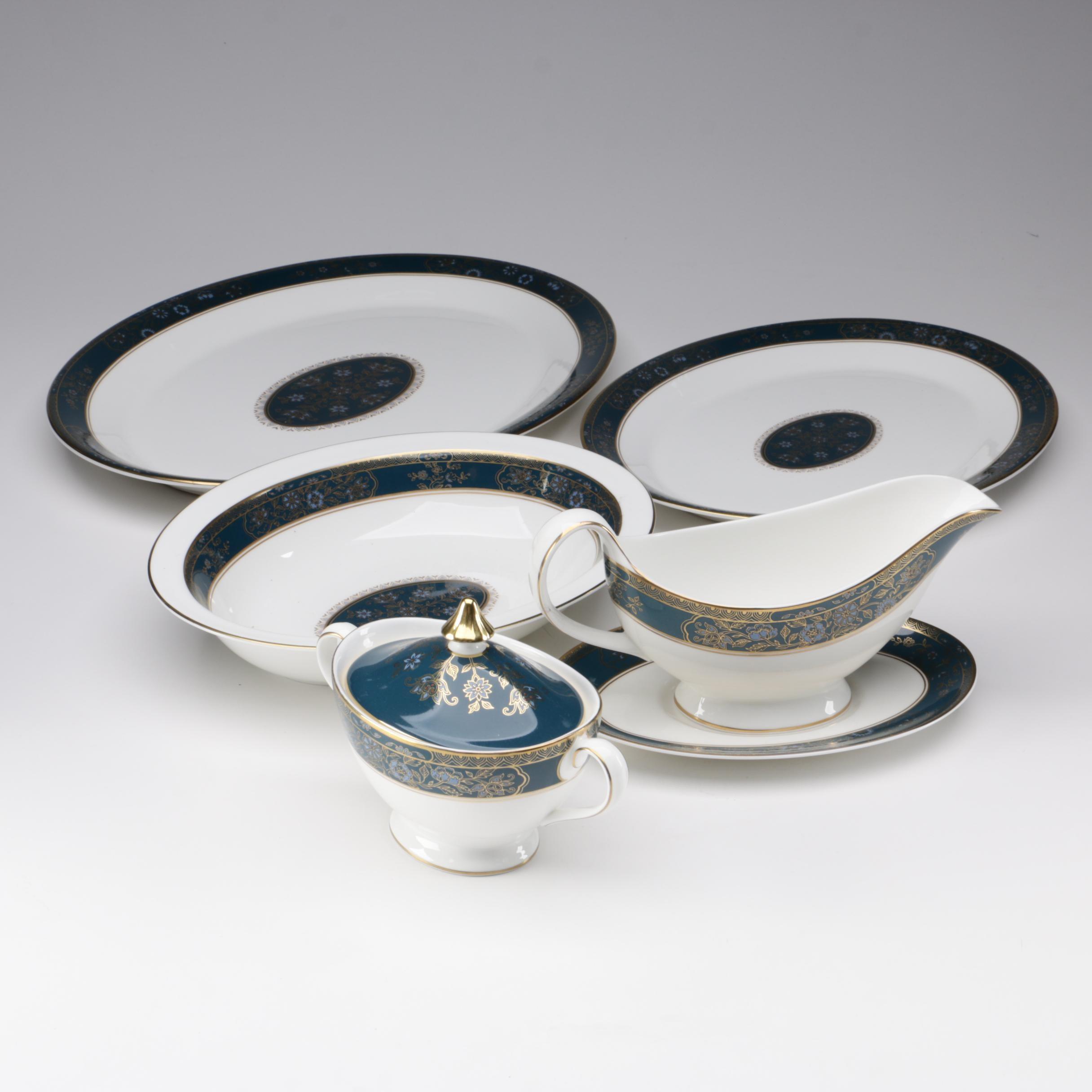 "Royal Doulton ""Carlyle"" Bone China Serveware Pieces, 1972-2000"