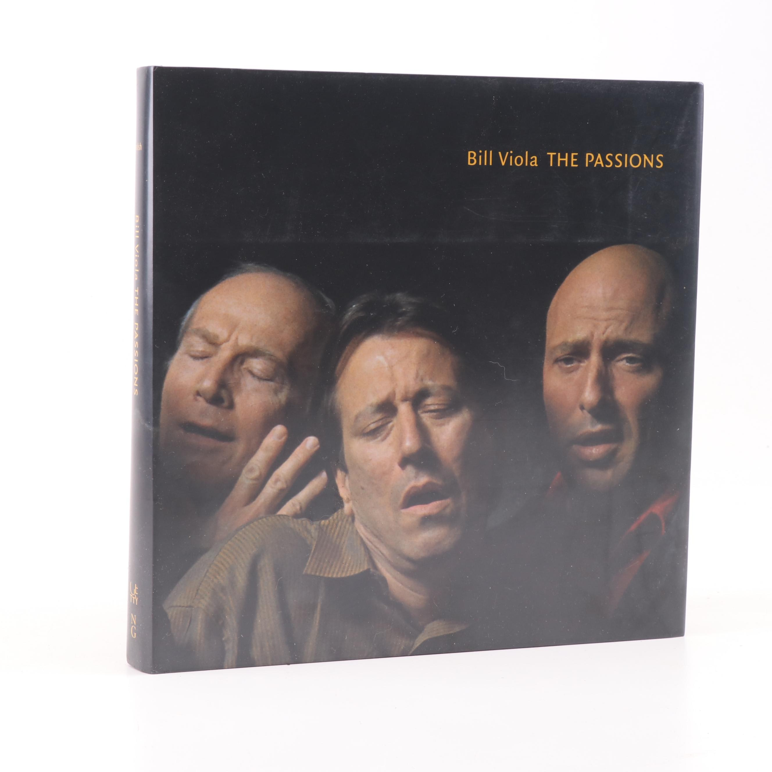 "Signed with Personal Illustration ""The Passions"" by Bill Viola, 2003"