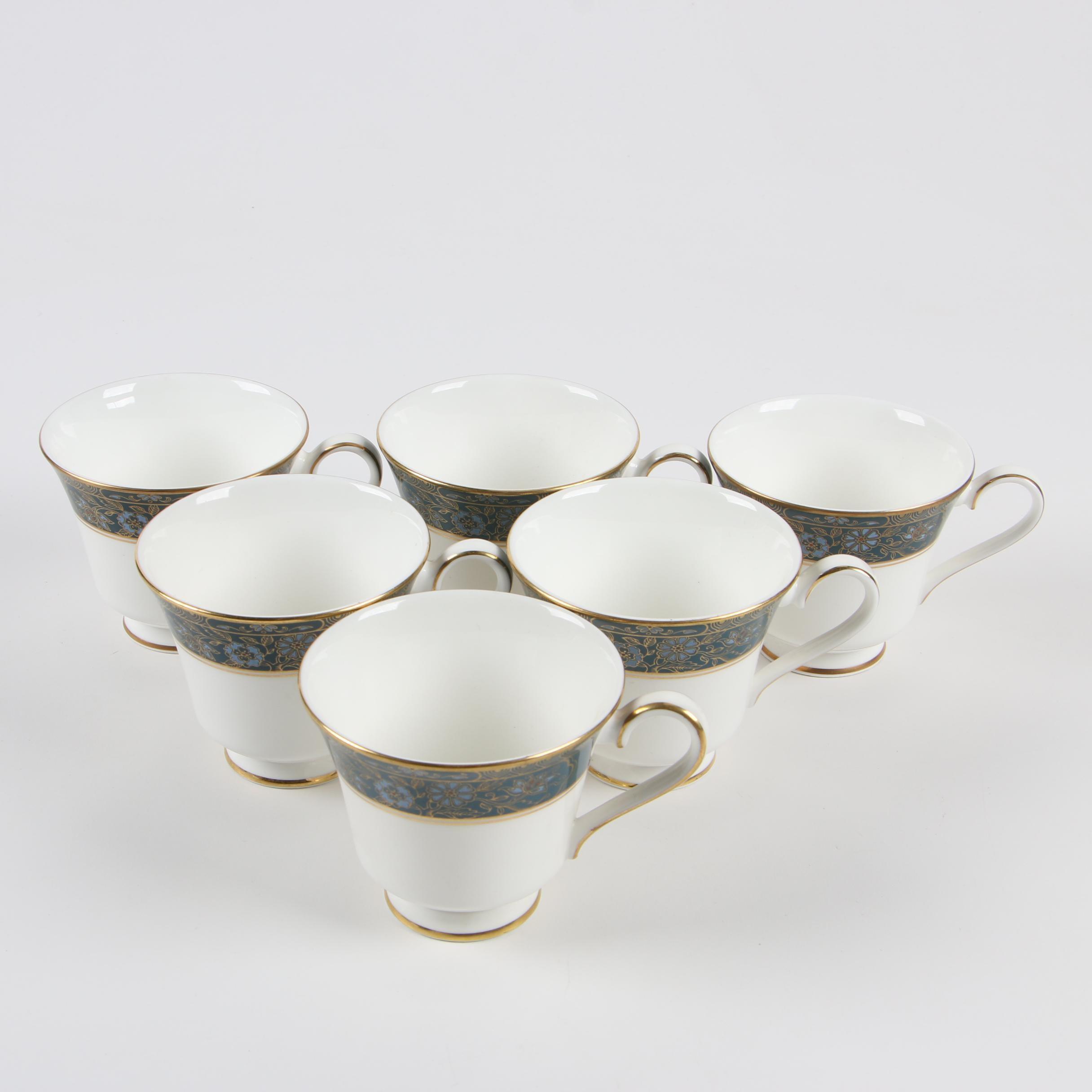 "Royal Doulton ""Carlyle"" Bone China Teacups, 1972-2000"