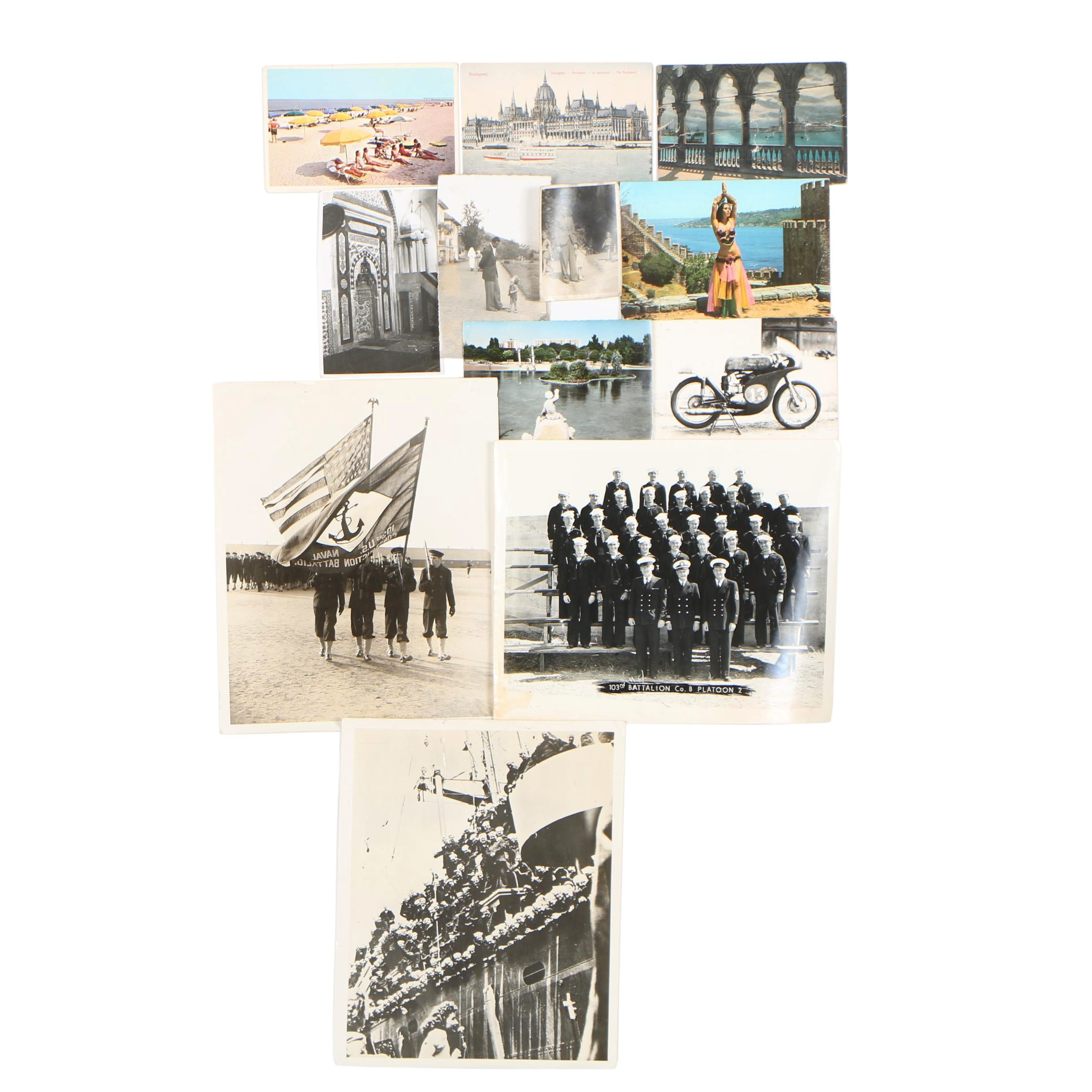 Late 20th Century Silver Gelatin Photographs and Postcards