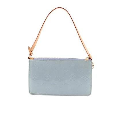 3125a19c3482 Louis Vuitton Paris Lavender Vernis Clutch Purse