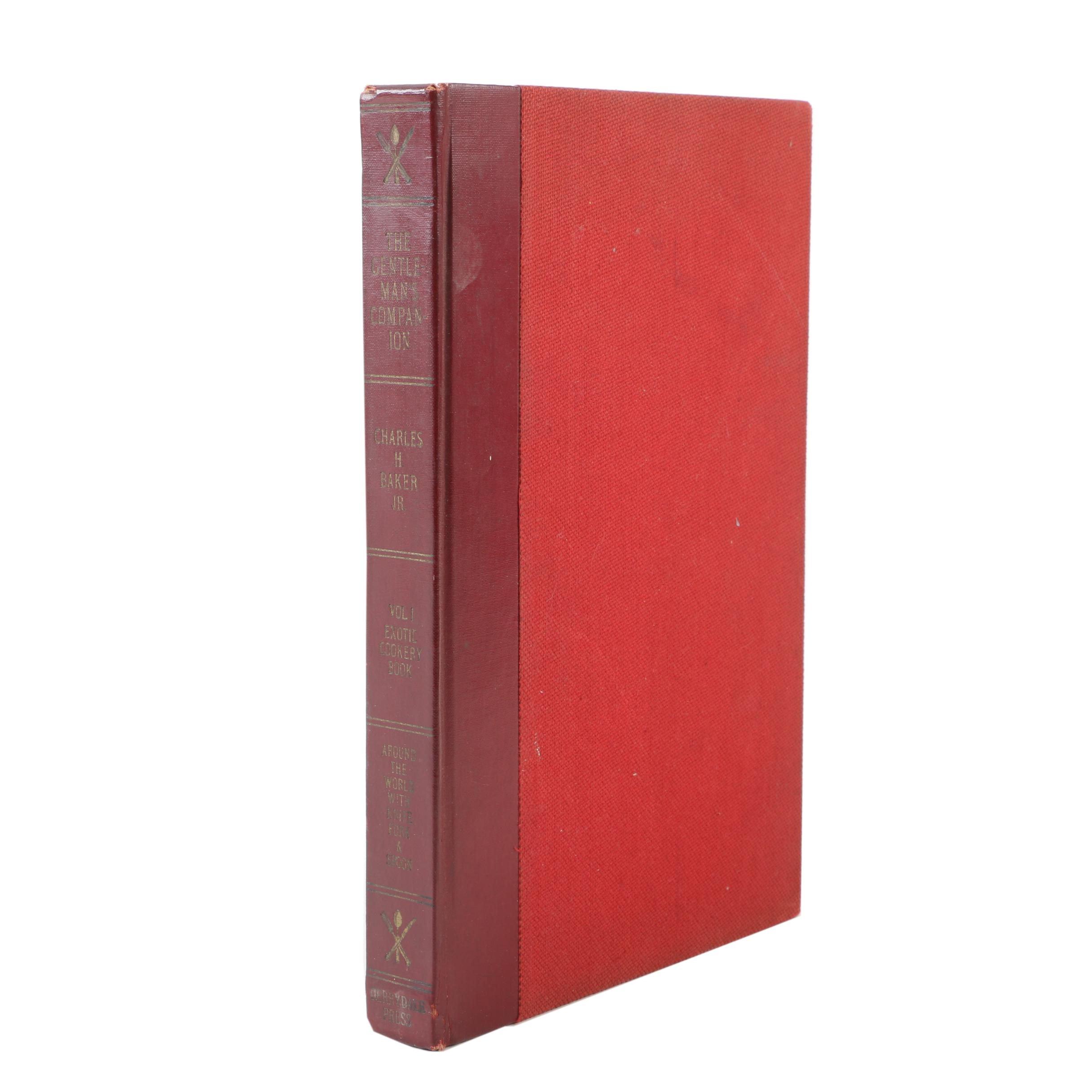 "1939 ""The Gentleman's Companion"" Exotic Cookbook"