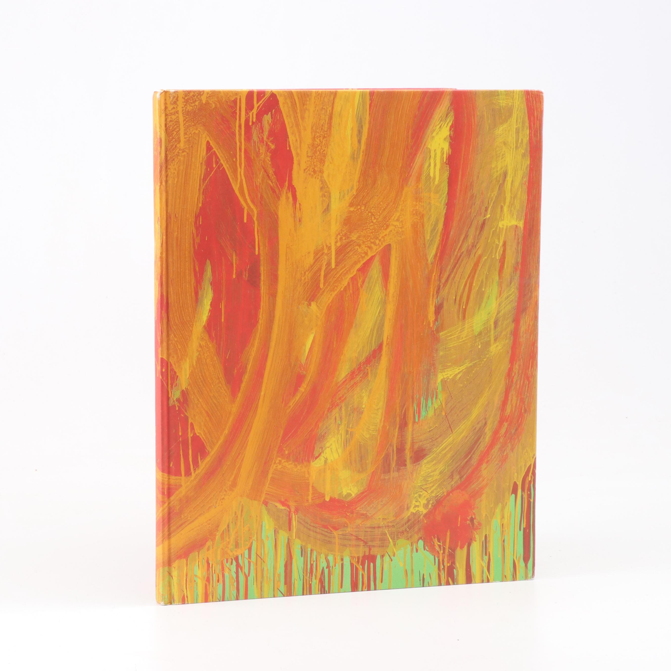 "First Edition ""Cy Twombly: The Last Paintings"" by the Gagosian Gallery"