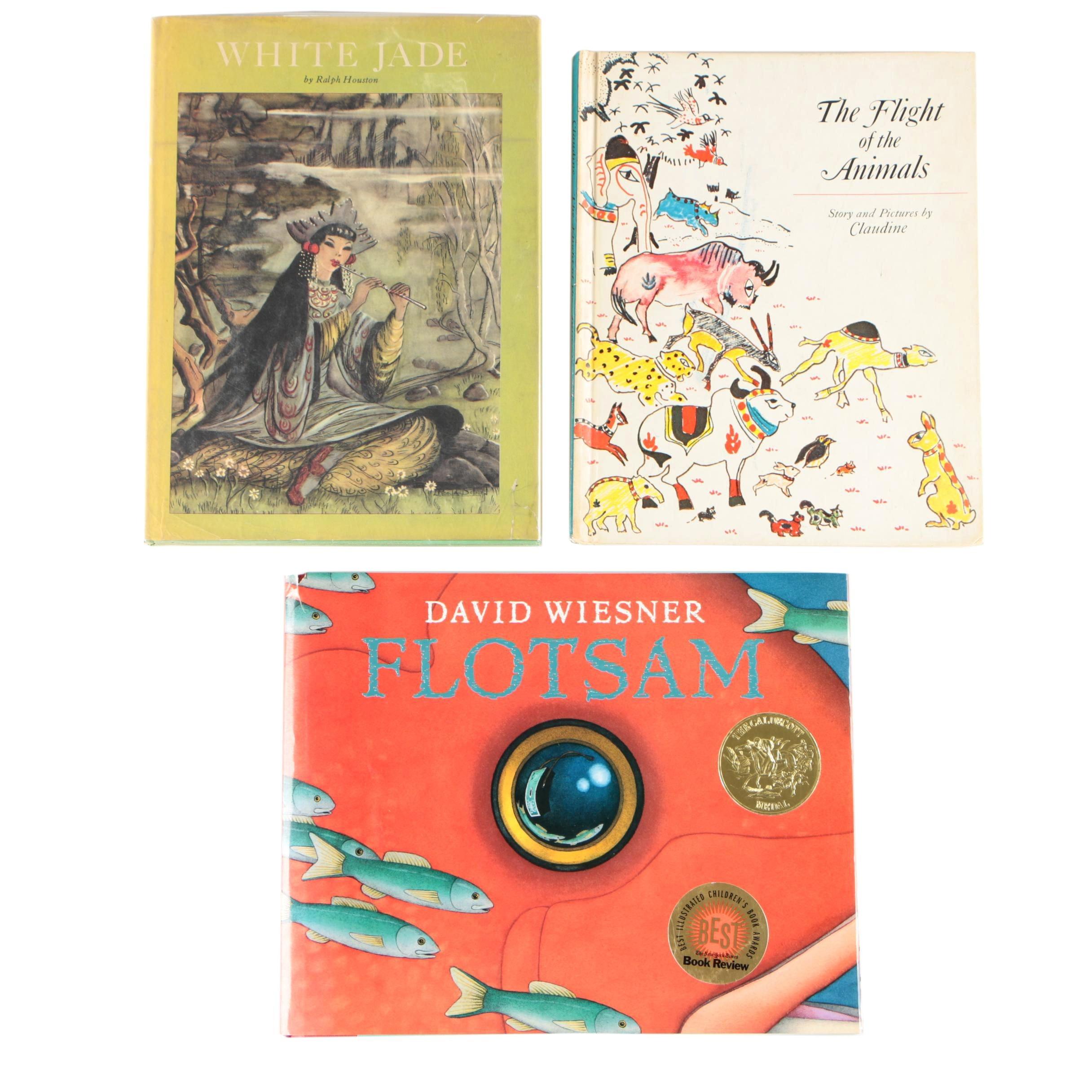 "Children's Picture Books featuring ""Flotsam"" by David Wiesner"