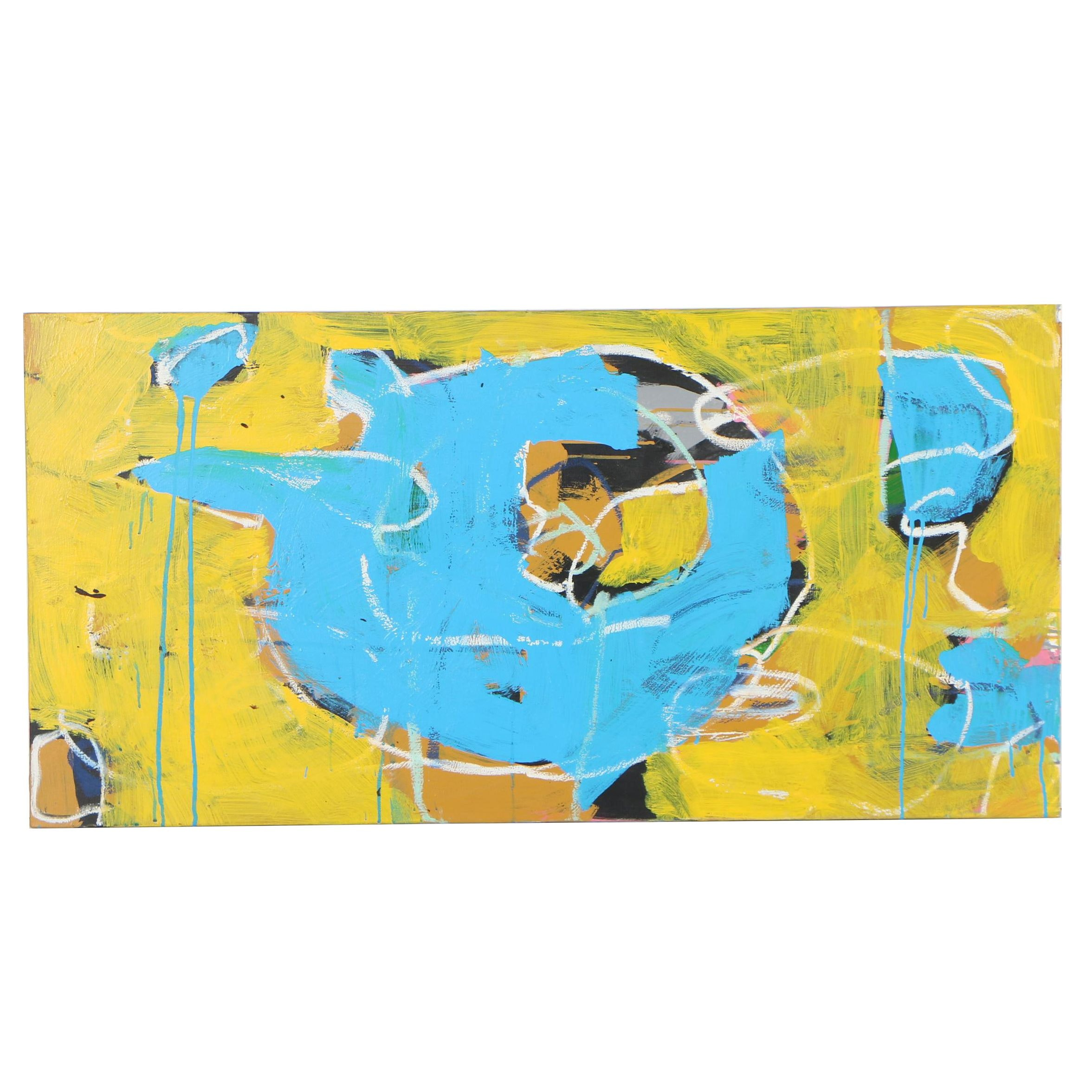 "Michael Farsetta 2018 Acrylic Painting ""First Step, New Step"""
