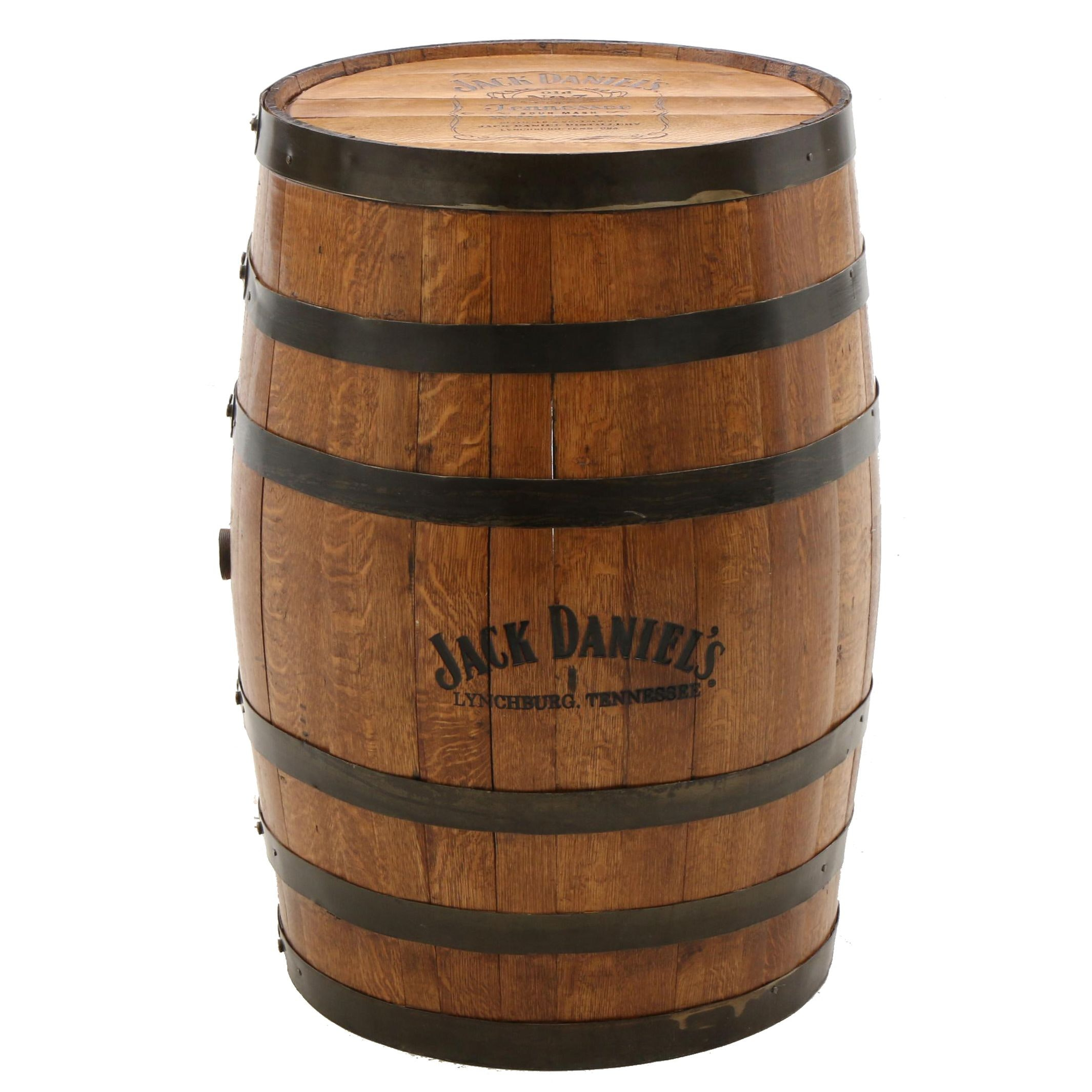 Jack Daniels Old No. 7 Tennessee Oak Whiskey Barrel