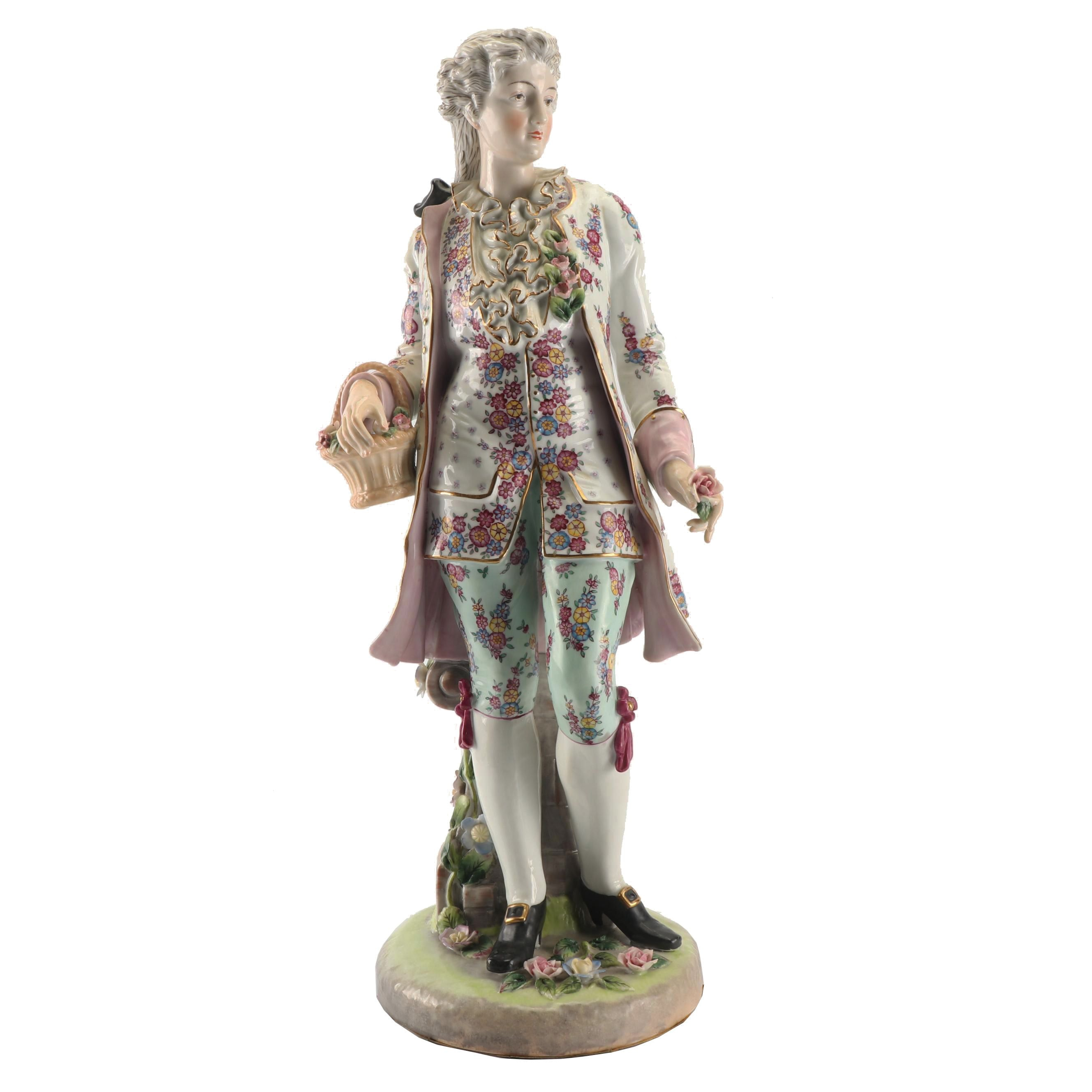 French Style Porcelain Figurine