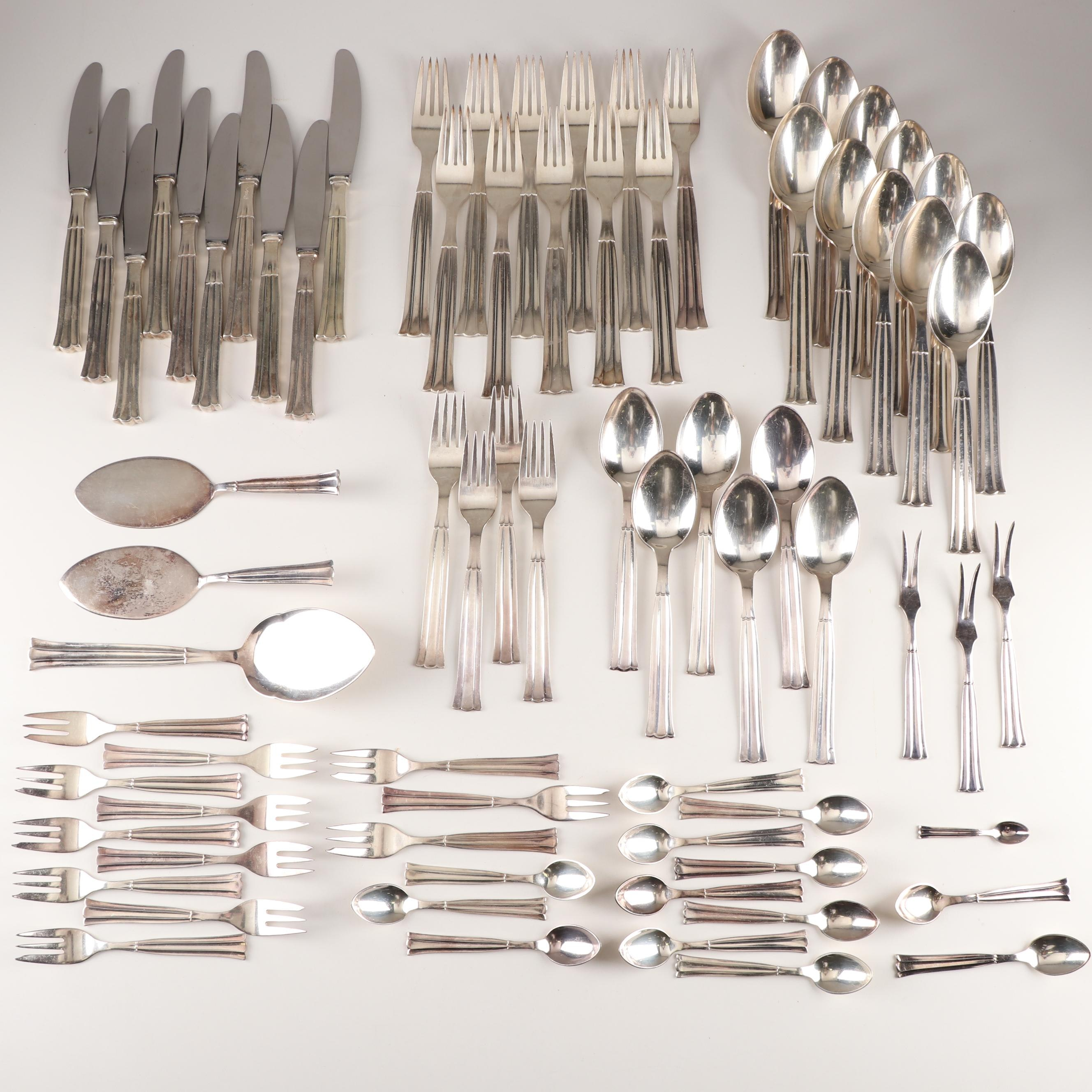 Victoria Silver Plated Flatware Set