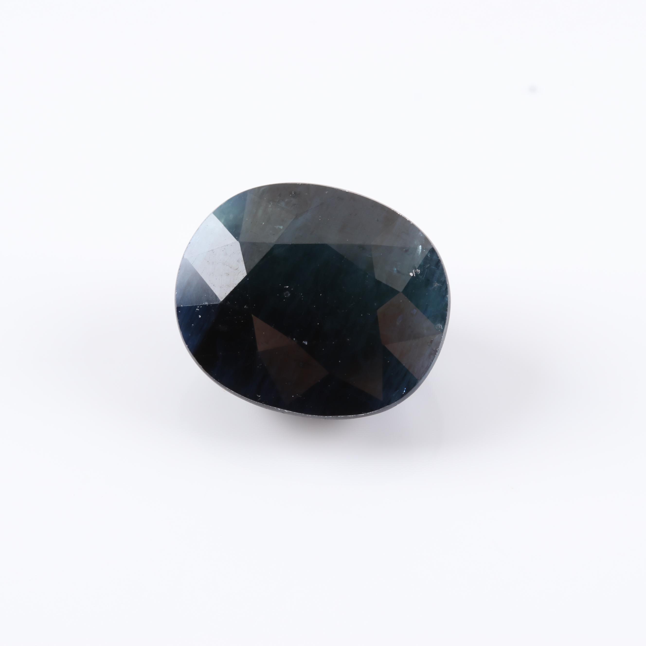 Loose 8.94 CT Sapphire Gemstone