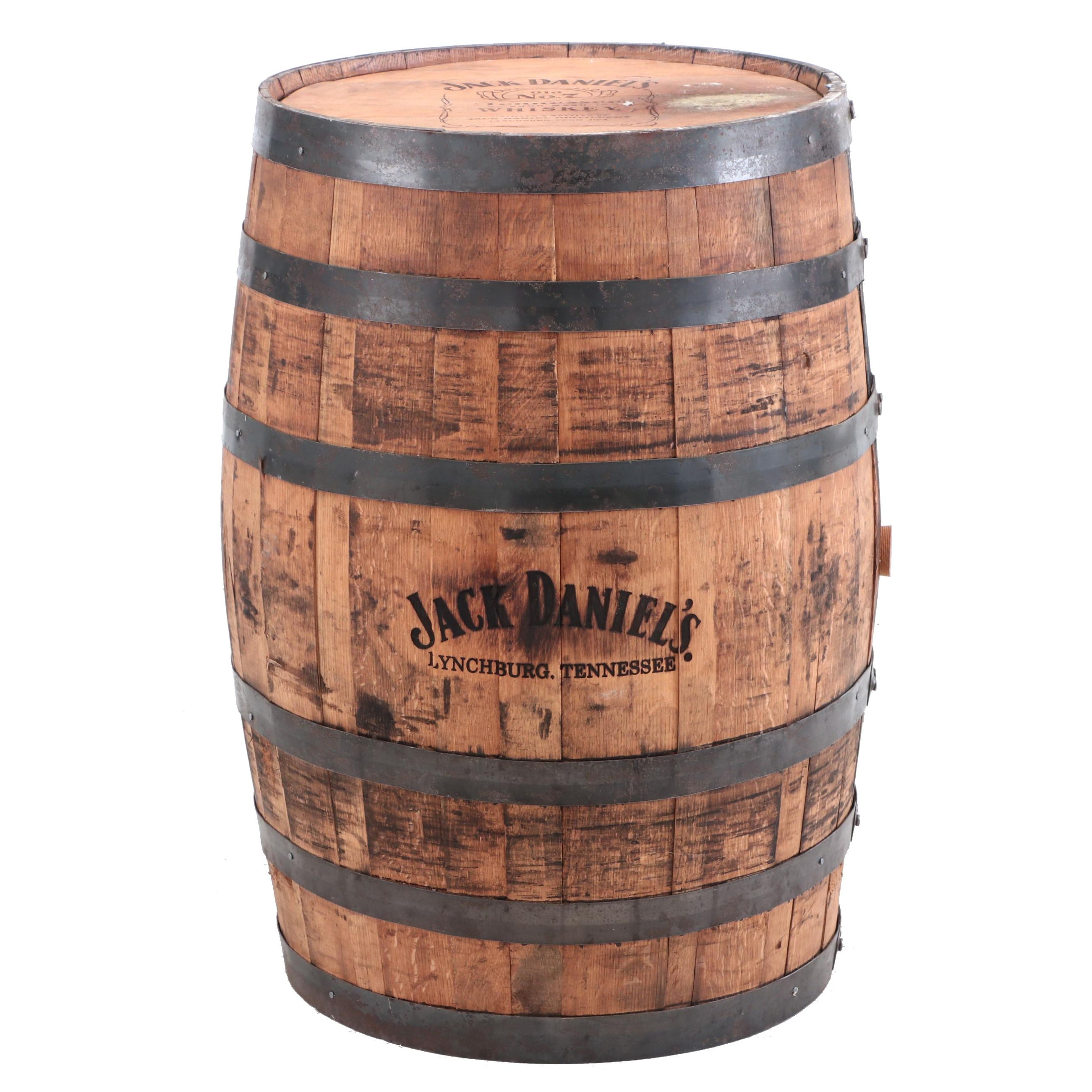 "Jack Daniels ""Old No. 7 Brand"" Tennessee Whiskey Oak Barrel"