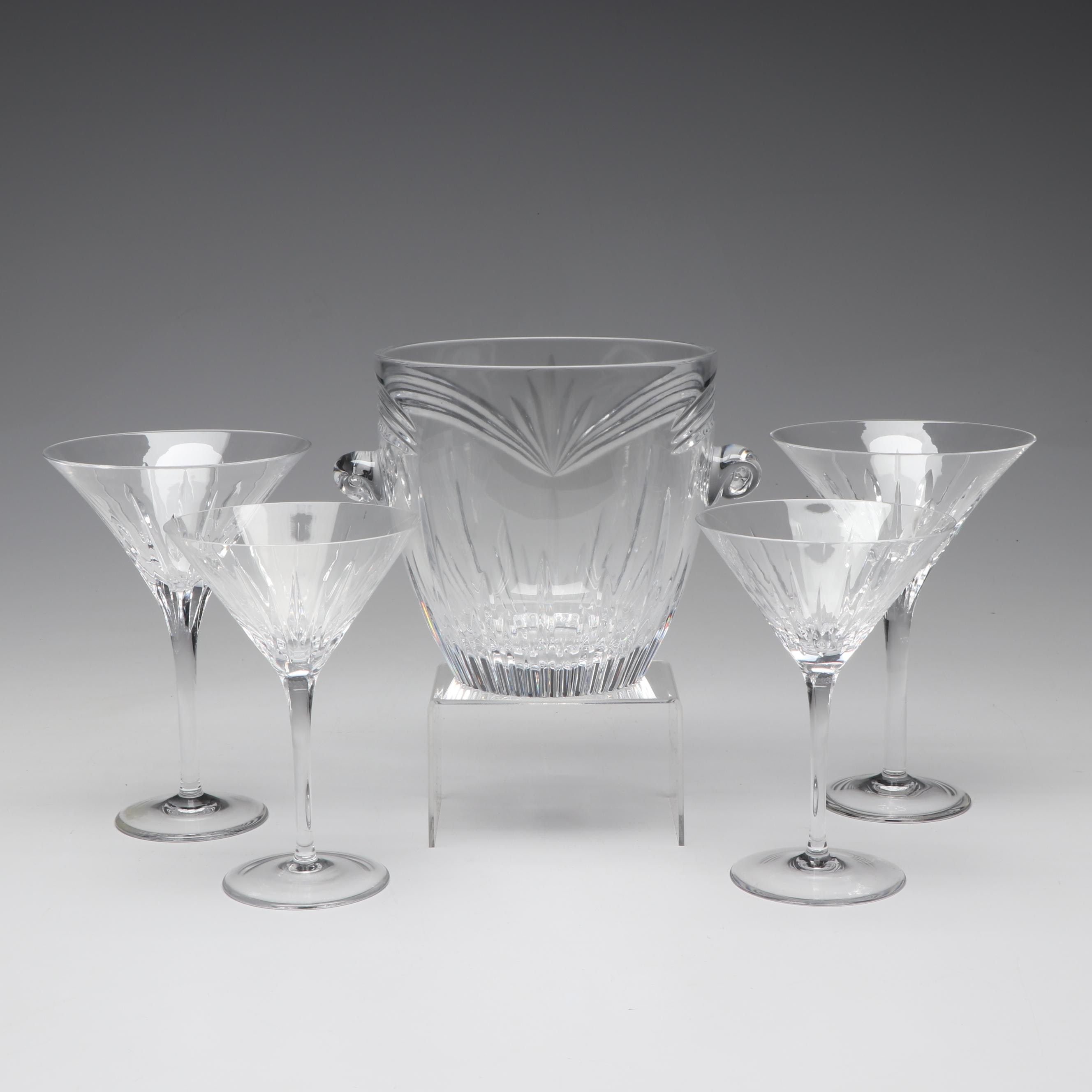 "Waterford Crystal Including ""Calais"", ""Wynnewood"" and ""Ariel"""