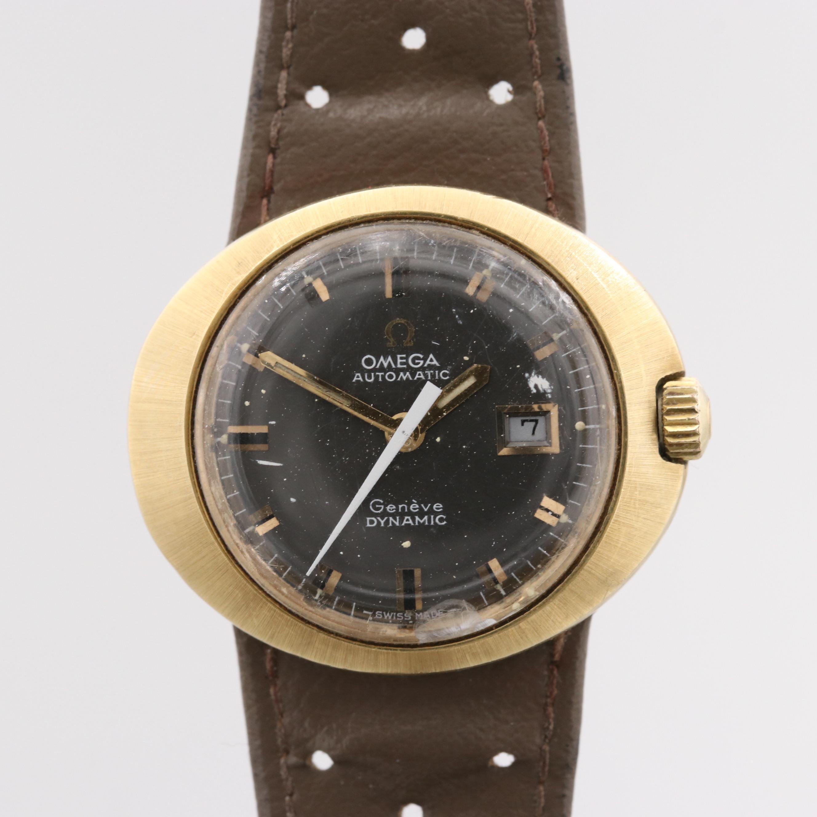 Omega Dynamic Automatic Wristwatch With Date Window