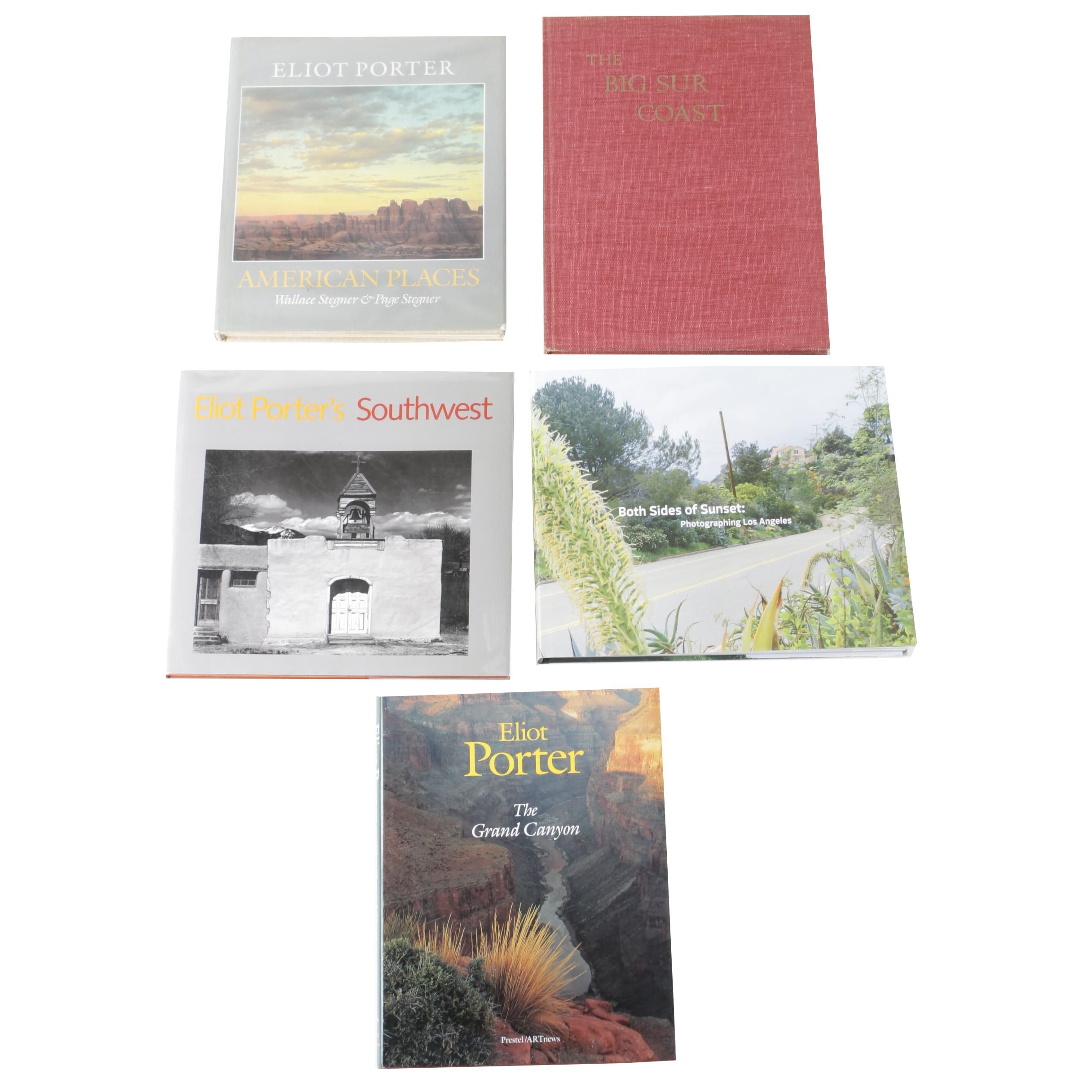 Travel and Photography Coffee Table Books Including First Editions